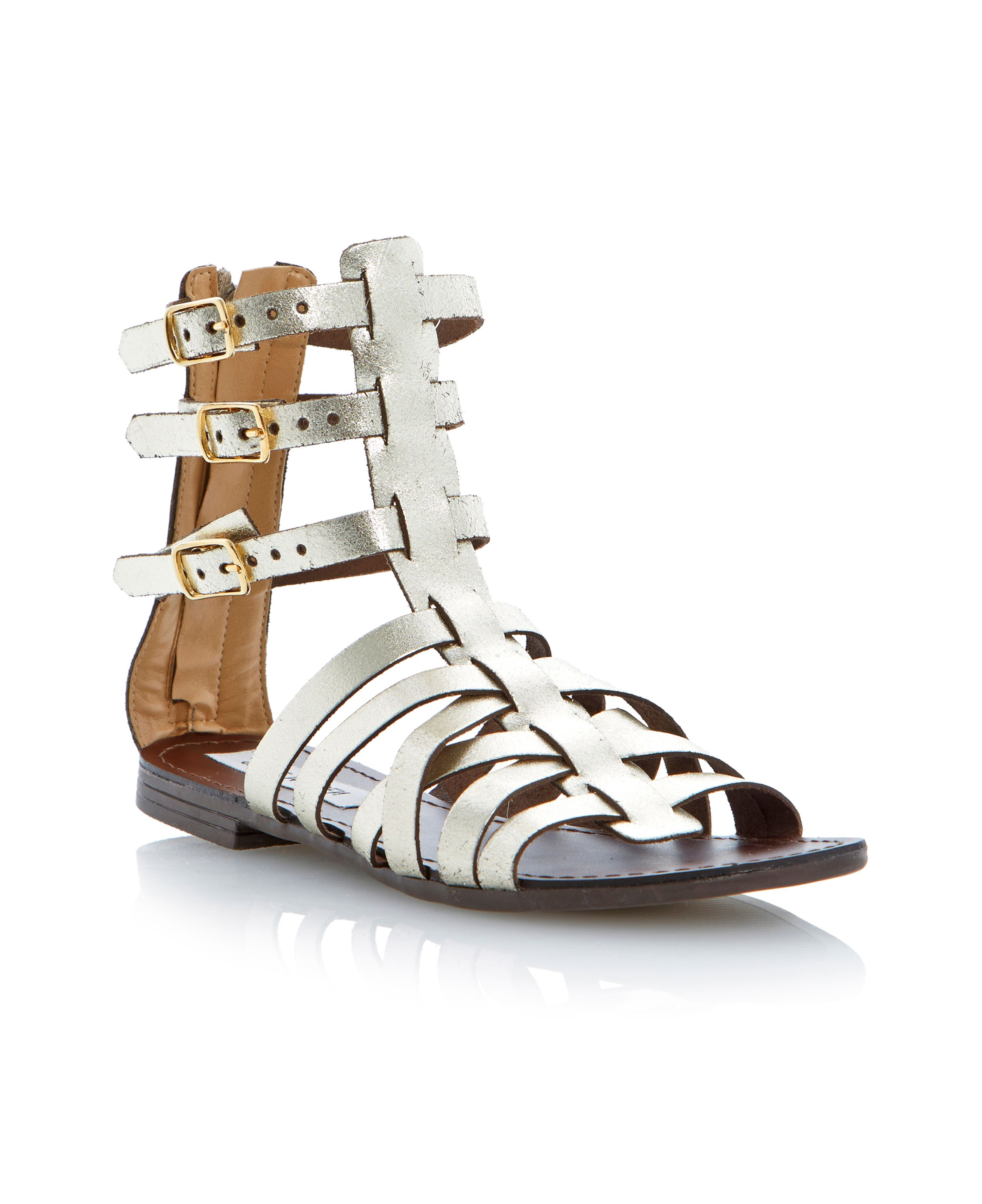 Plato ankle gladiator sandals