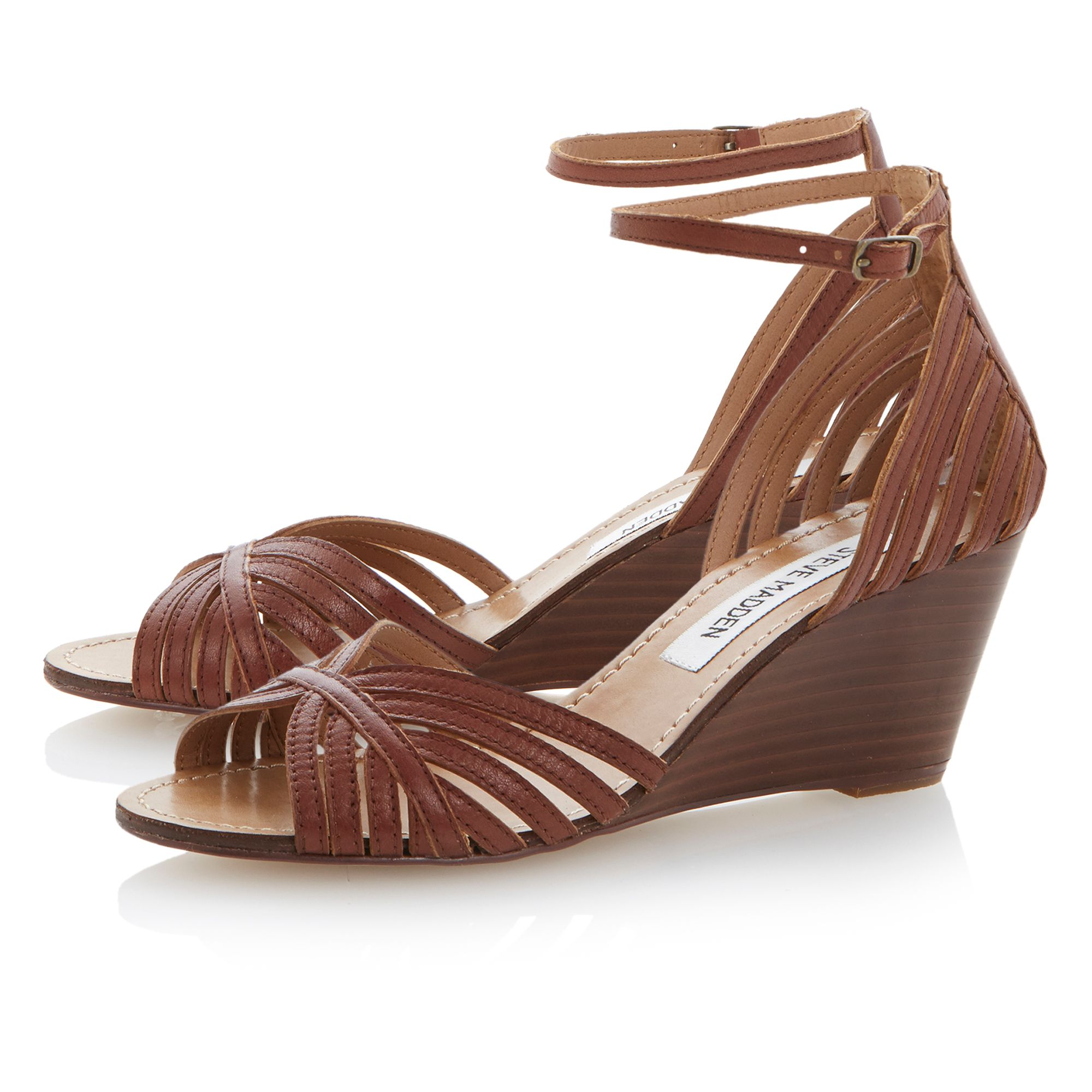 Lexii two part wedge sandals