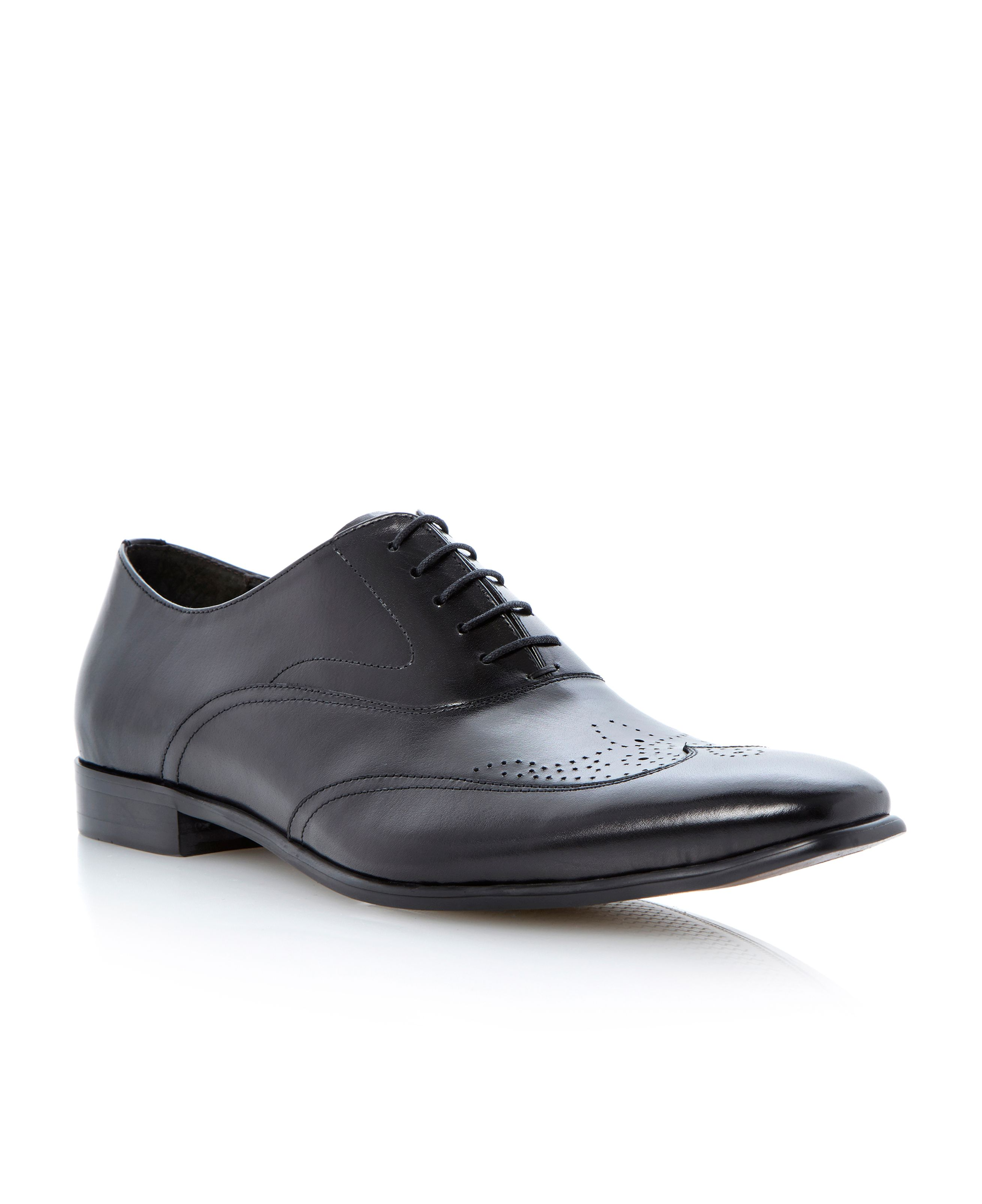 Admire lace up wingtip brogue oxford shoes