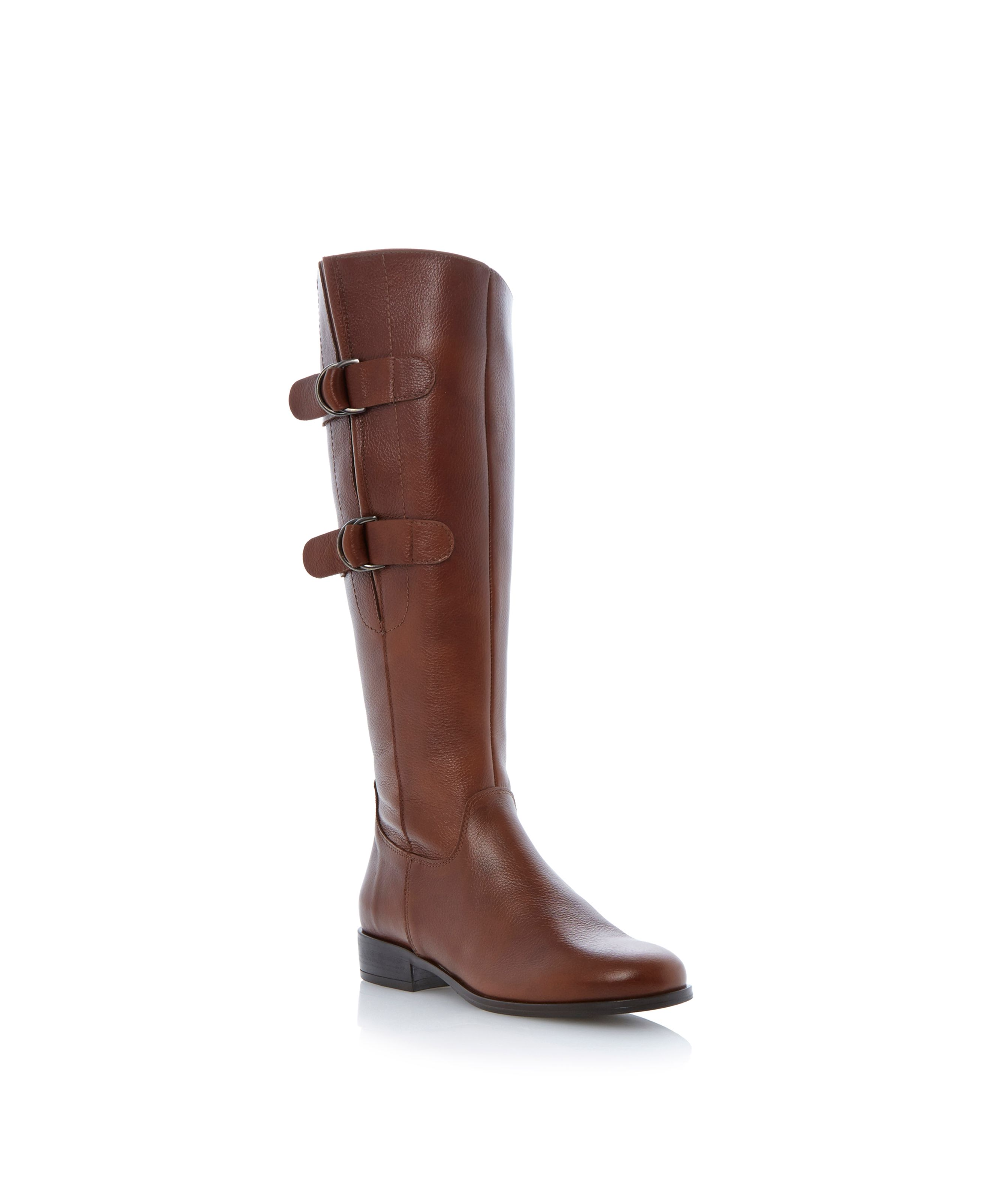 Tennyson d ring double side buckle boots
