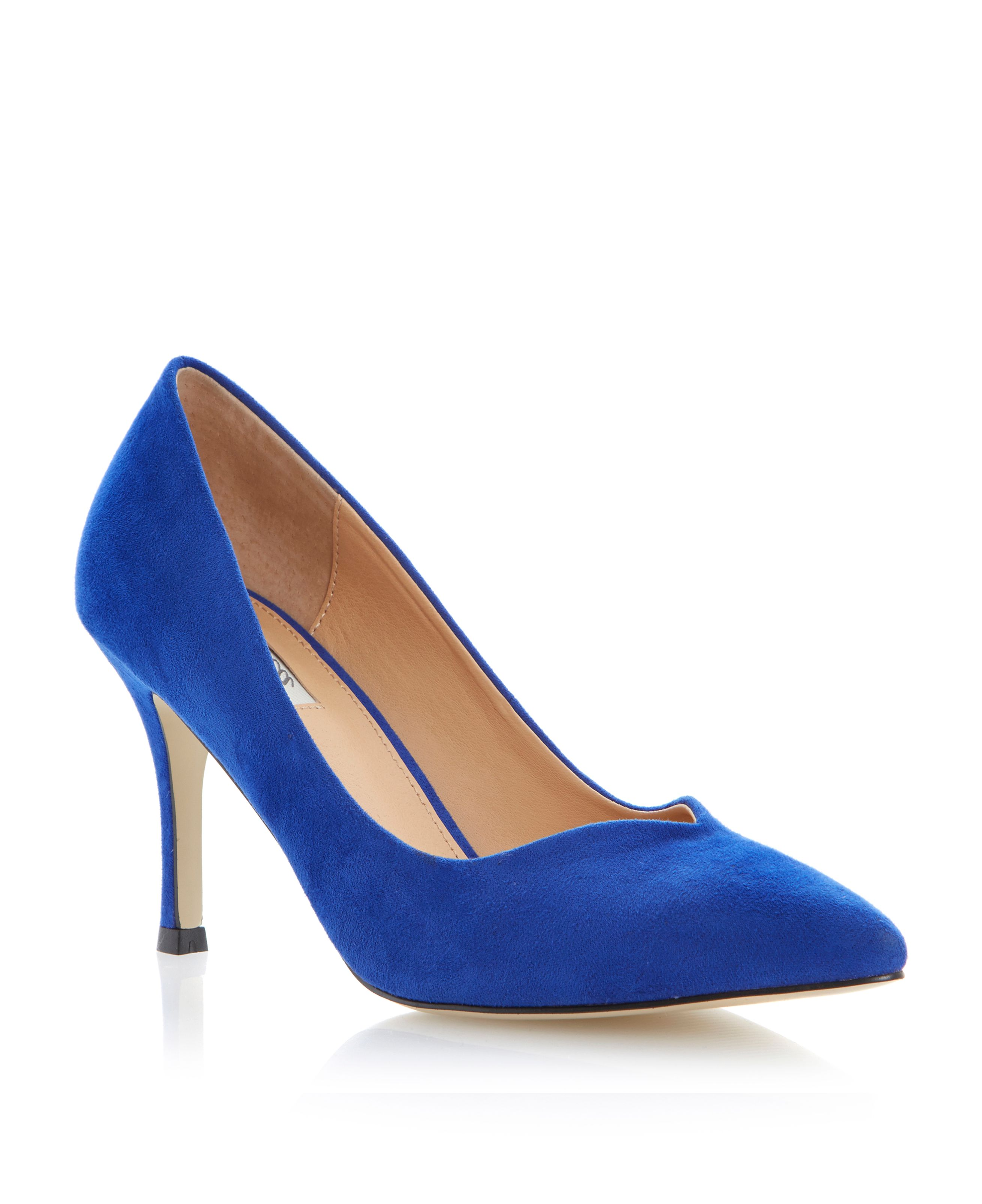 Applejack pointed toe stiletto court shoes