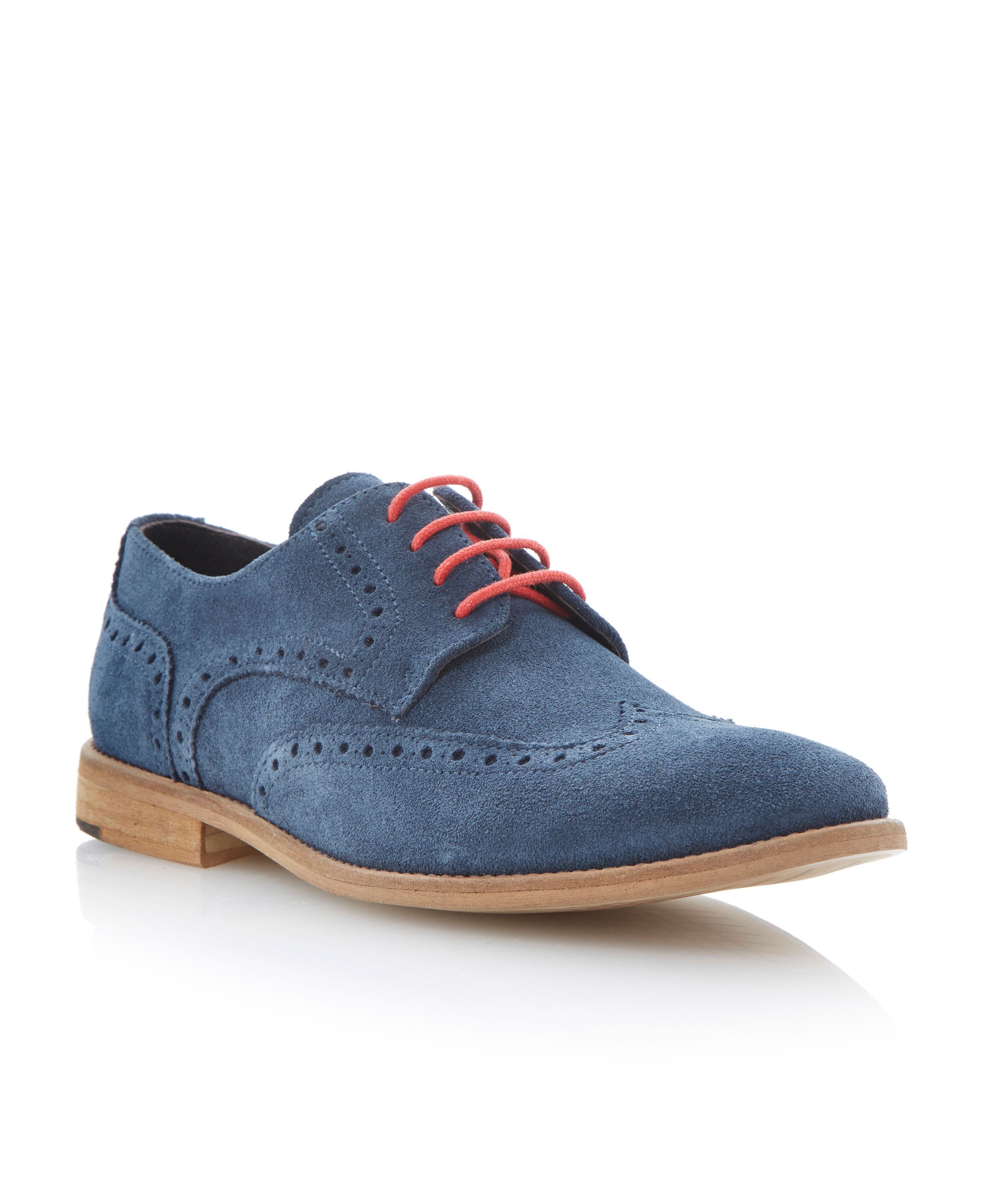 Aston suede lace up suede brogues