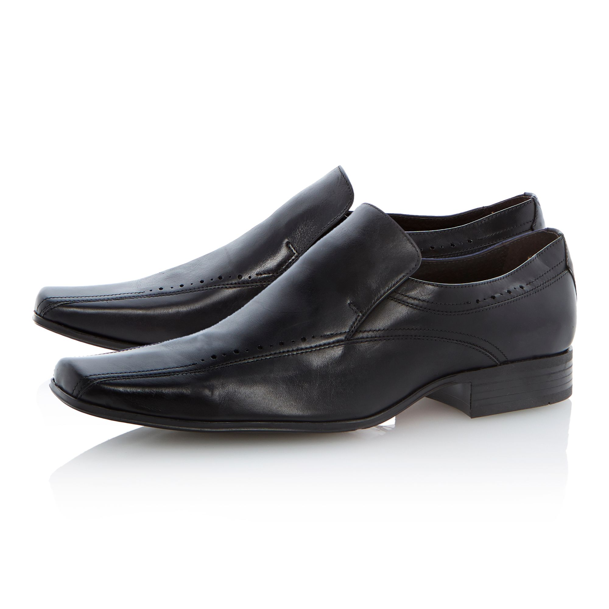 Russell sqaure lace up loafers