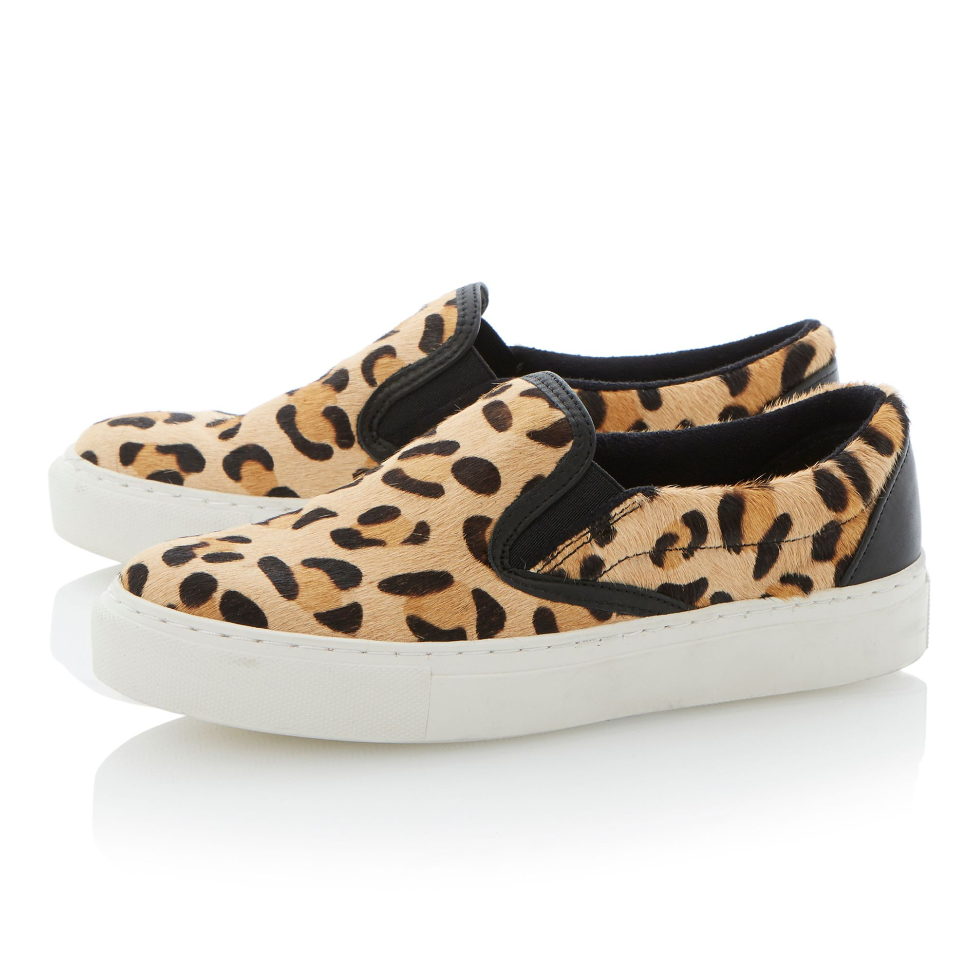 Putney mix material slip on shoes