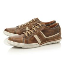 Toffee apple 1 lace up multi striped trainers