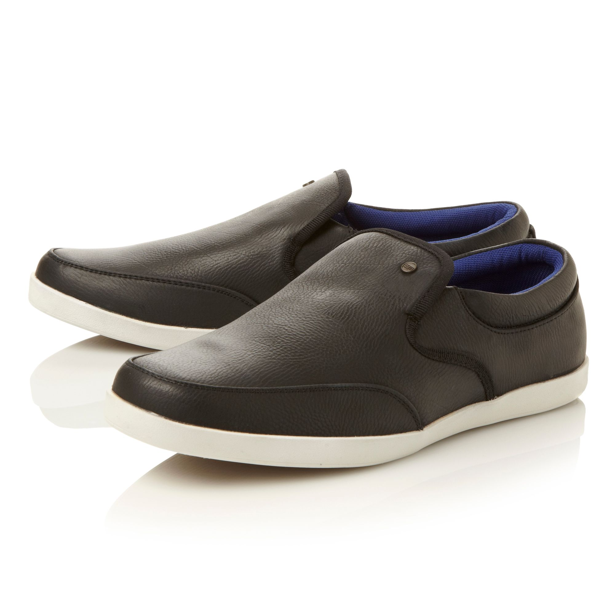 Gavin white sole sporty slip on