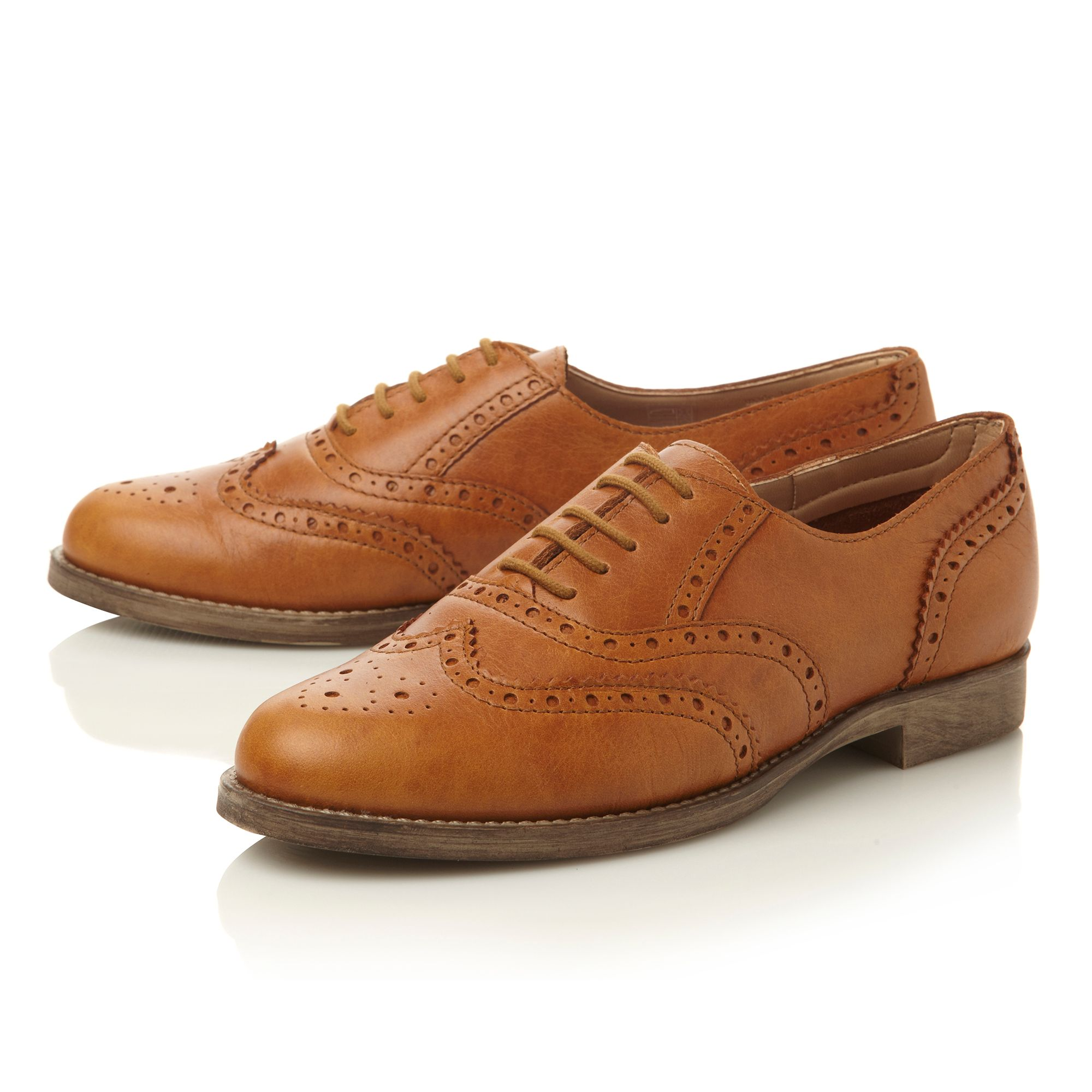 Lilirose lace up brogue shoes