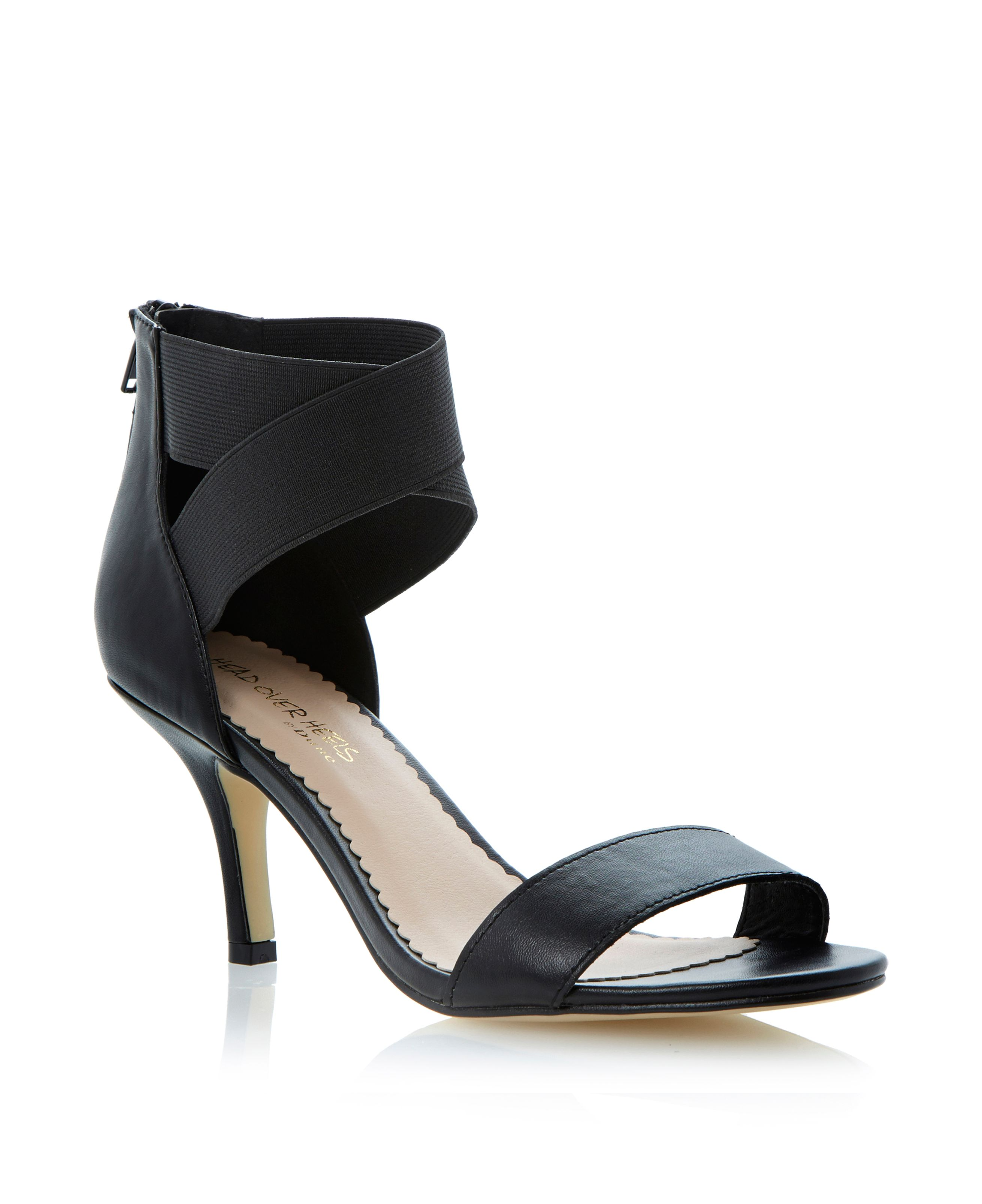 Gatzby stiletto zip sandals