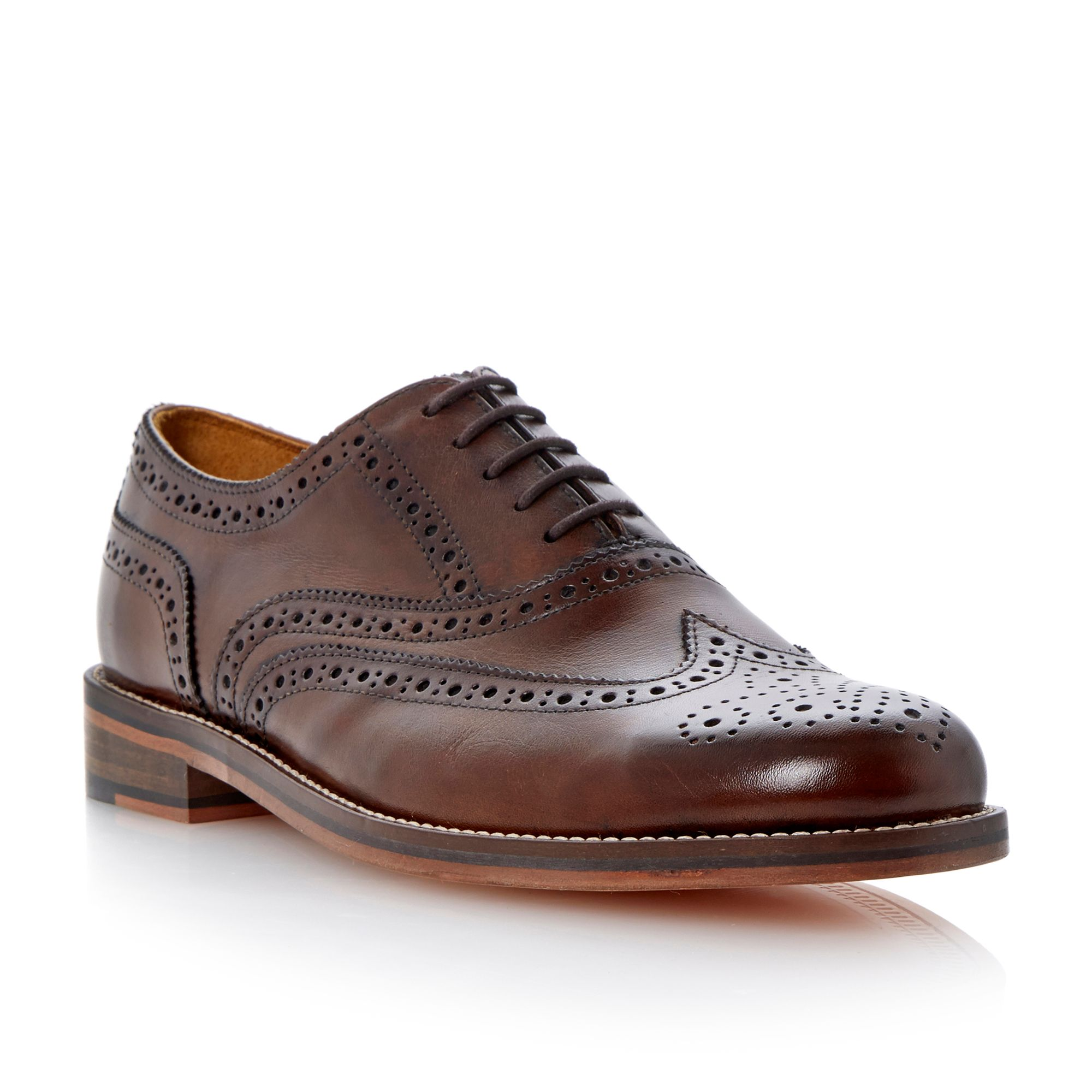 Braxton 1 lace up oxford heavy brogues