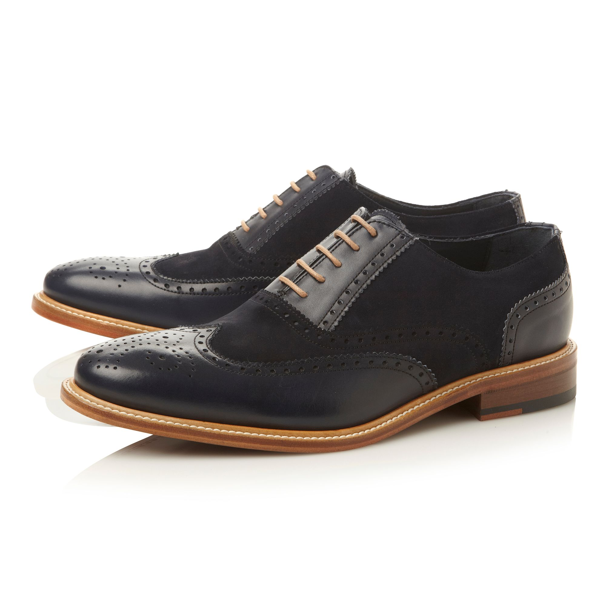 Sunbeam combo wingtip brogue