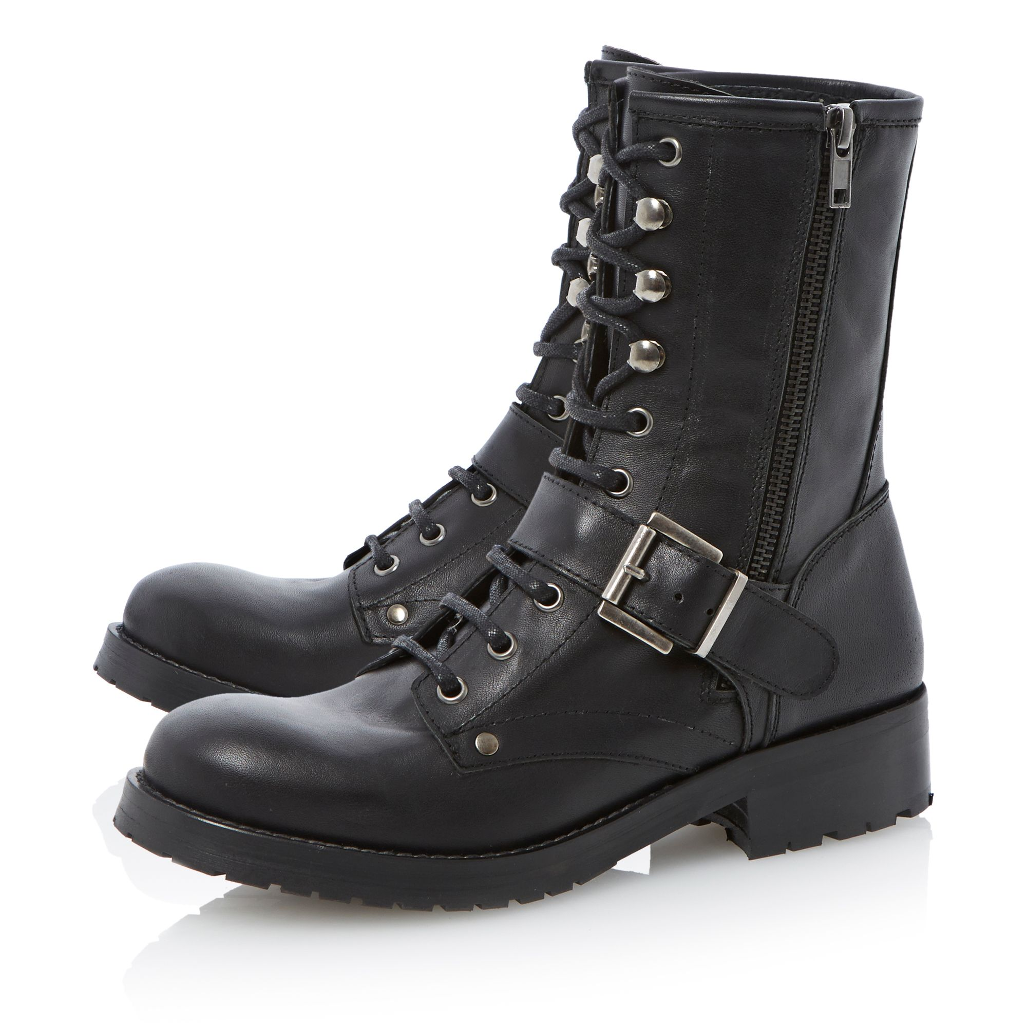 Rangle heavy cleated worker boots