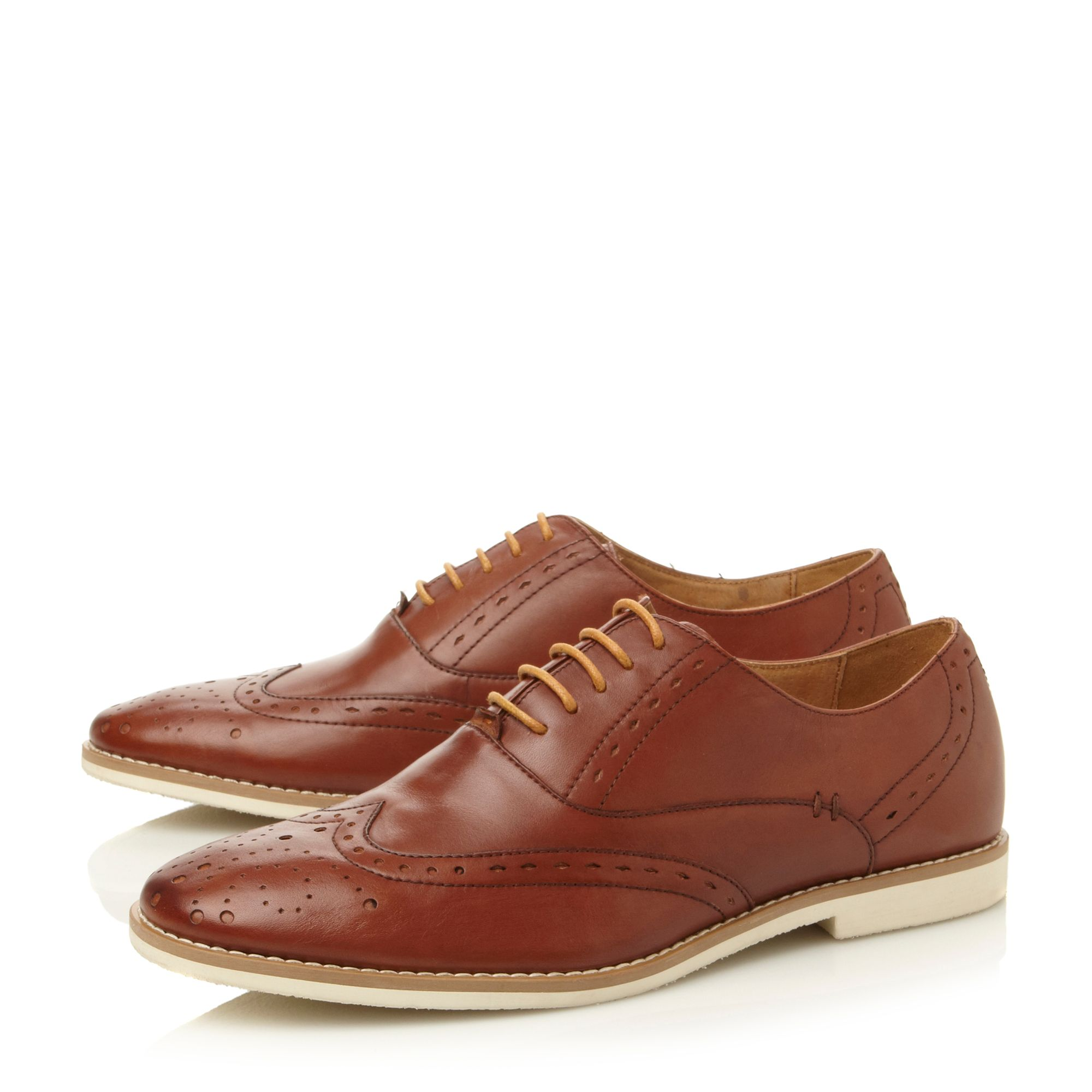 Bolton lace up brogue oxford shoes