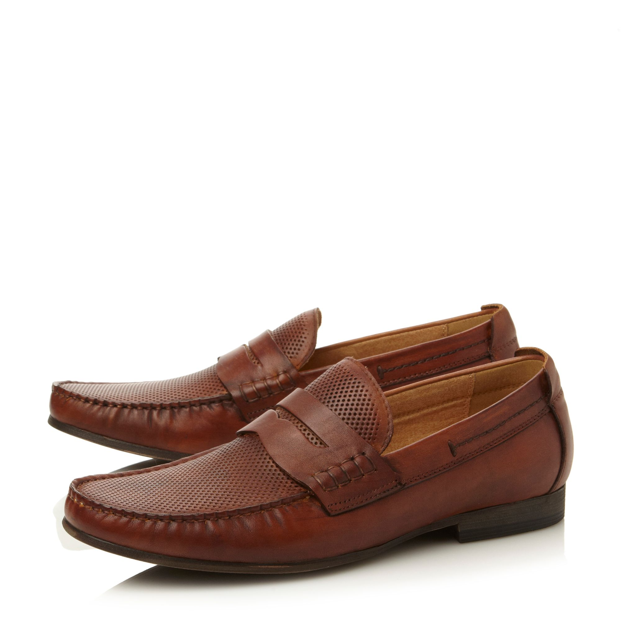 Wonder penny embossed mocc loafers