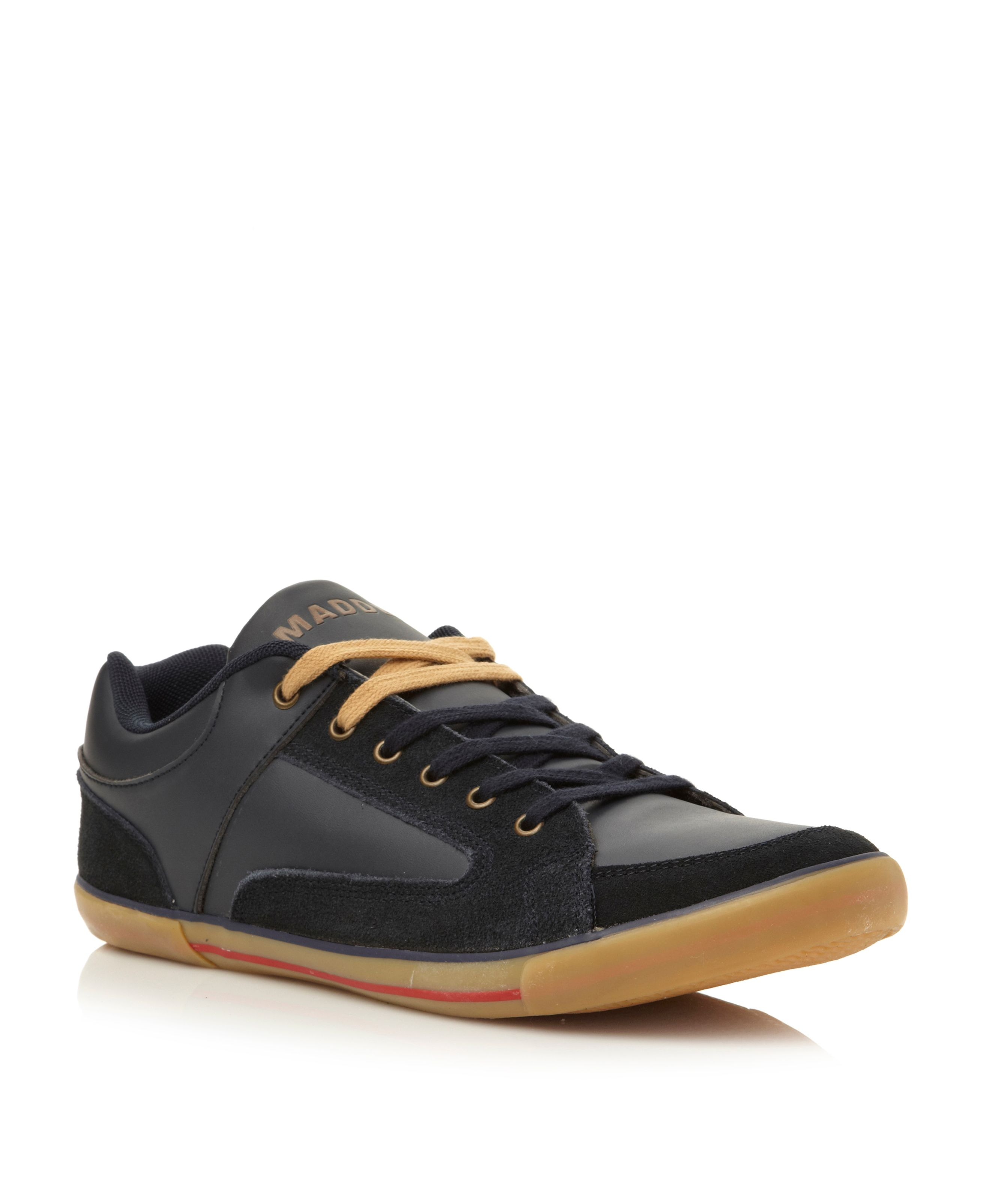 M-court lace up tennis style sneakers