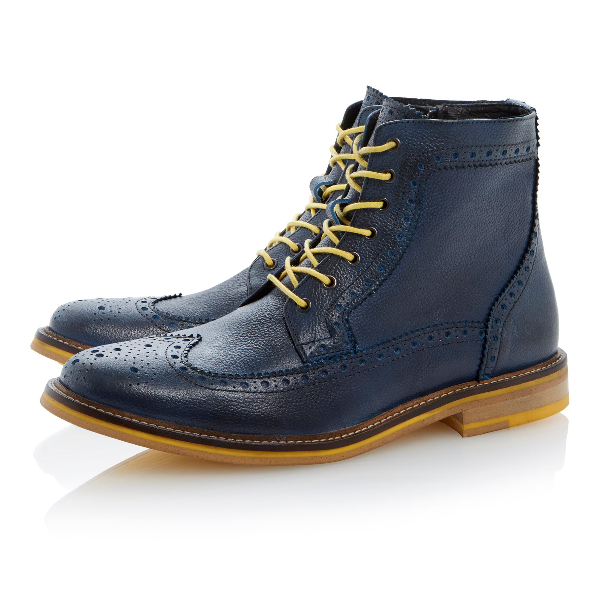 Cambridge heath colour pop brogue boot