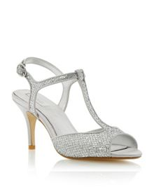 Hydra mid heel t bar sandals