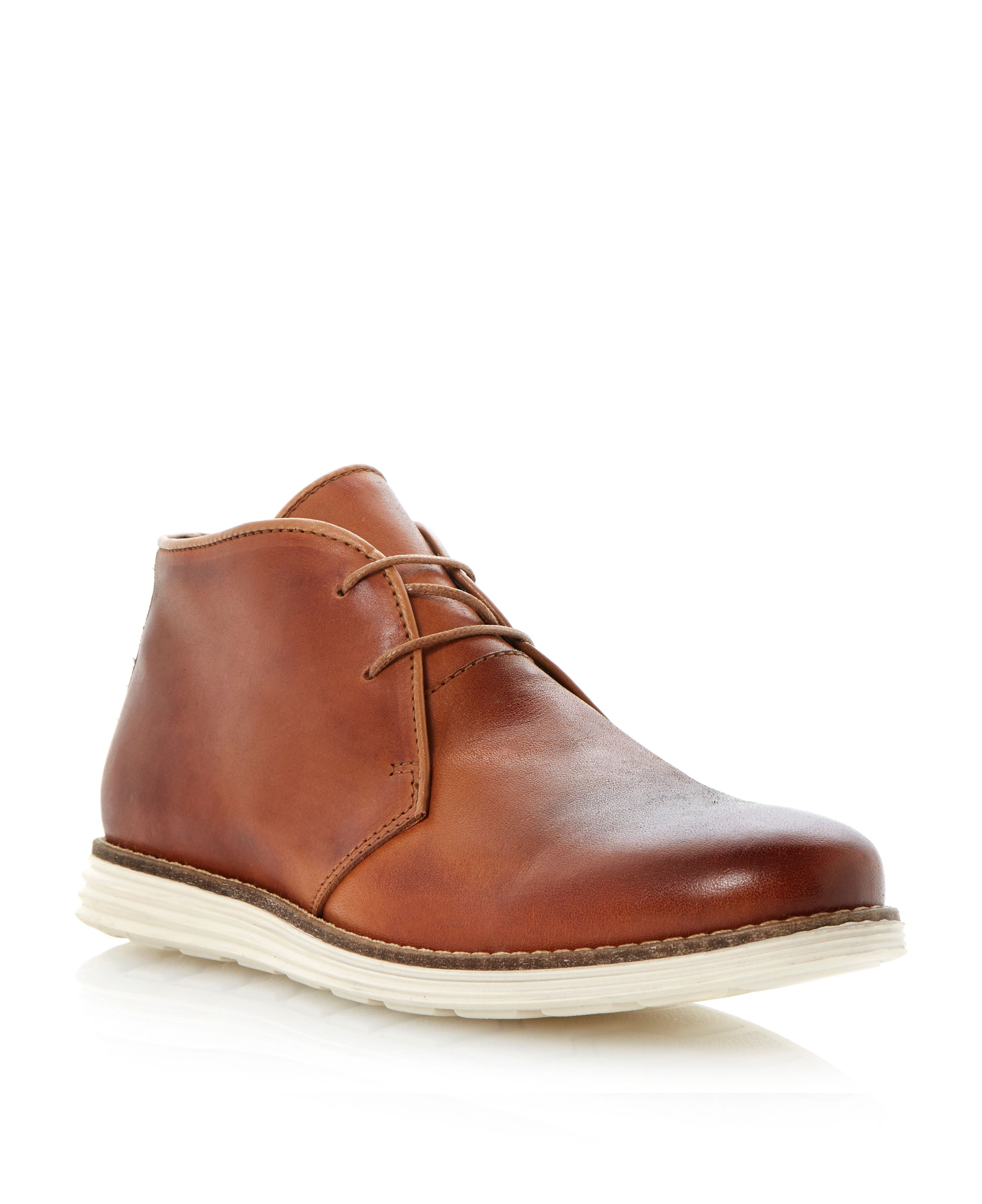 Christoff lace up sporty chukka boots