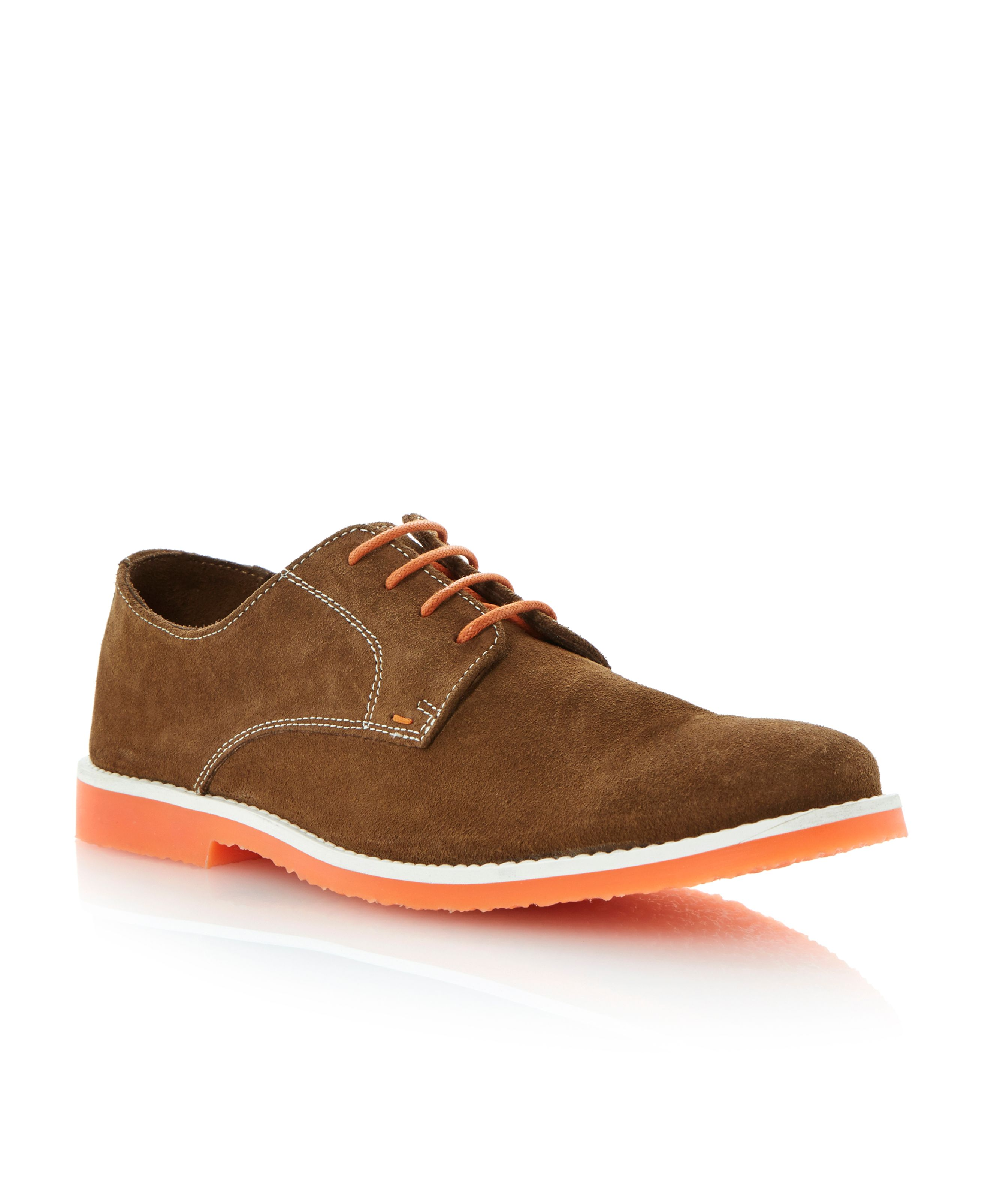 Bailey lace up colour pop desert shoes