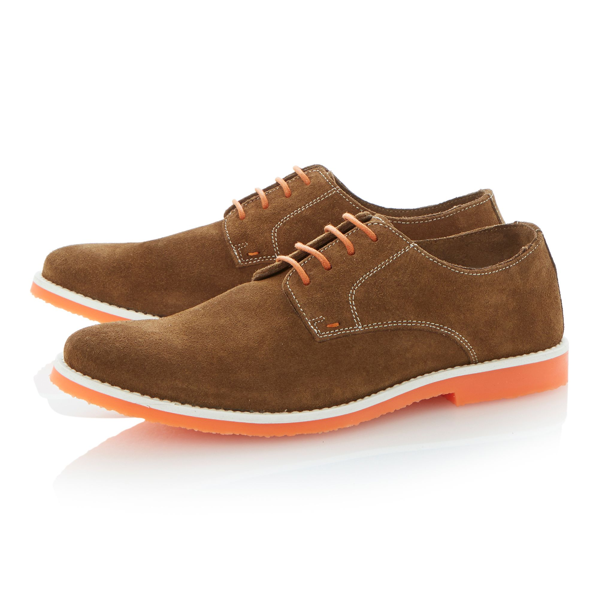 Bailey lace up colour pop unlined desert shoes