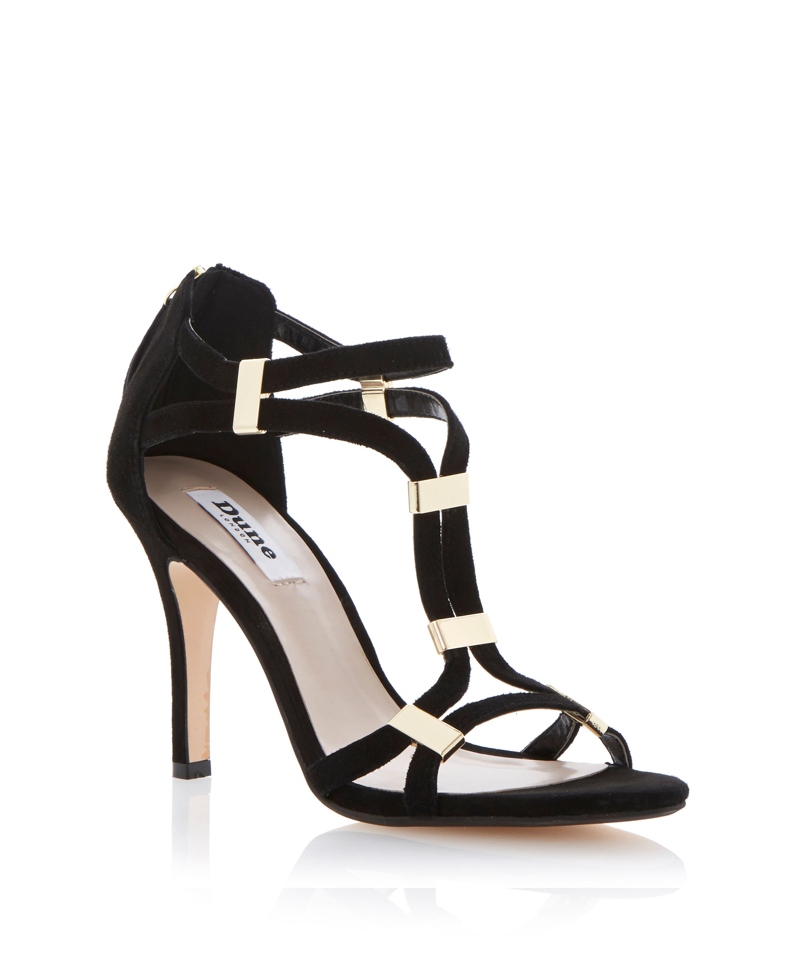 Harleigh suede stiletto dressy sandals