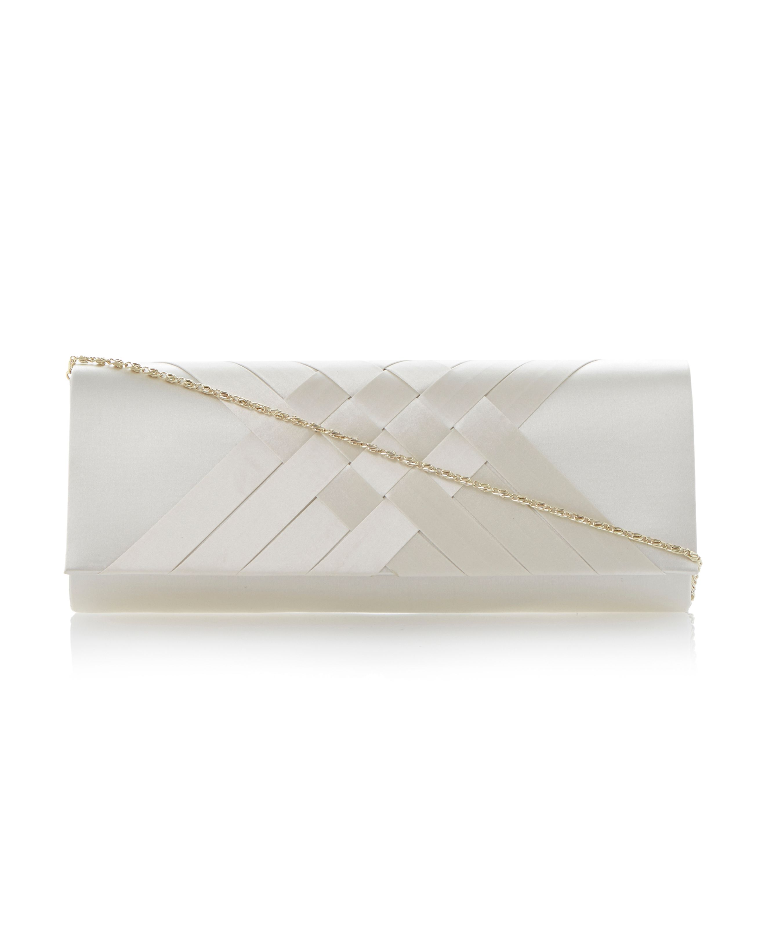 B genericas satin clutch bag