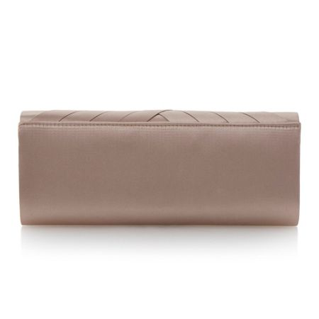 Untold B genericas satin clutch bag