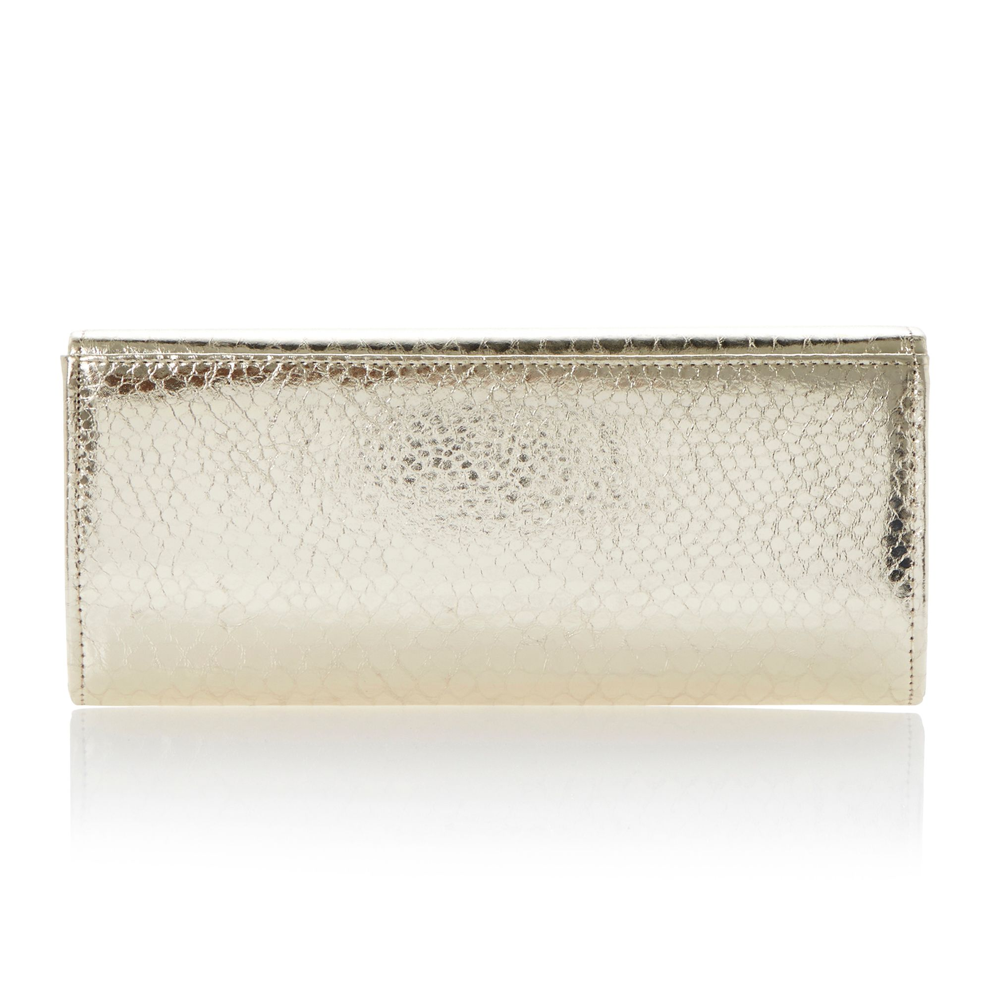 Bestro asymmetric clutch bag