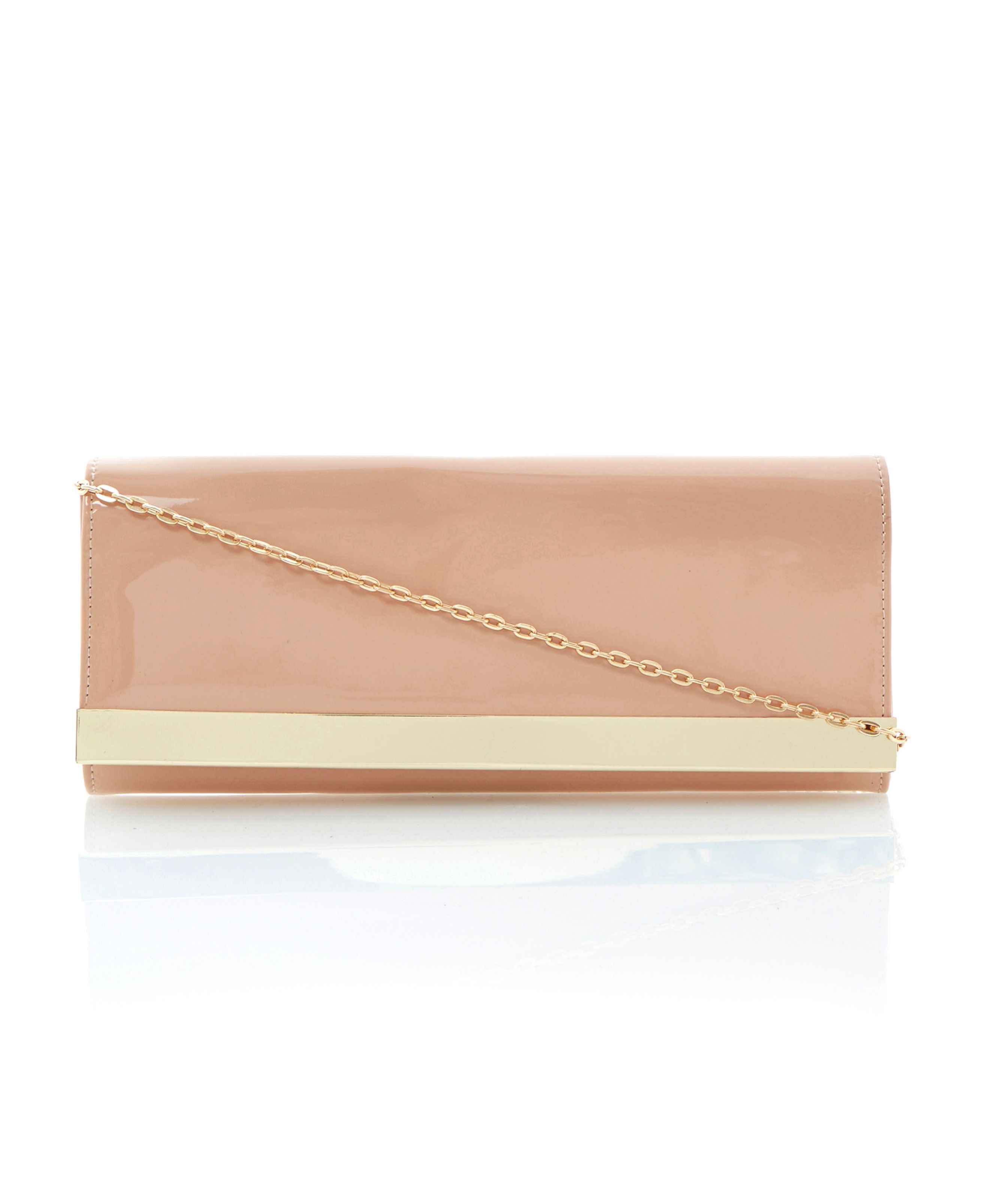 Boka metal plate clutch bag