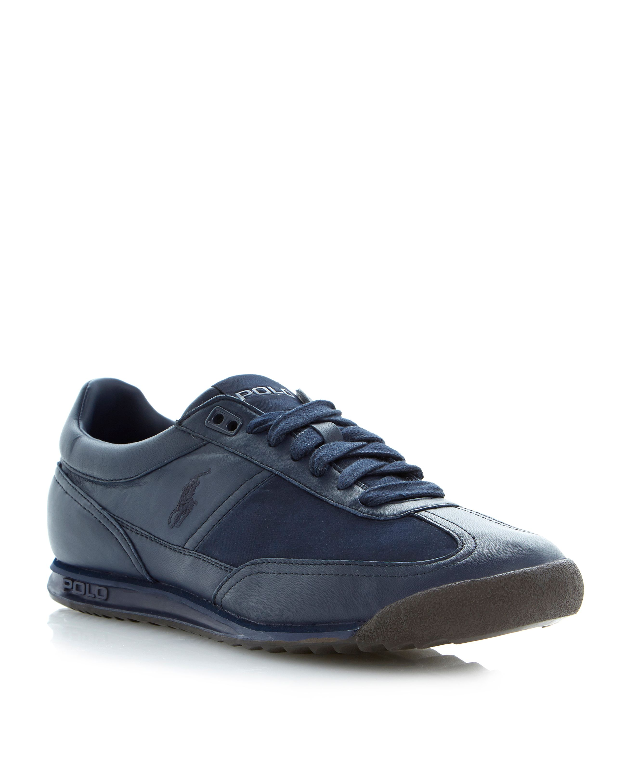 Vicars runner lace up trainers