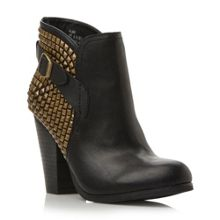 Alani sm studded leather ankle boot