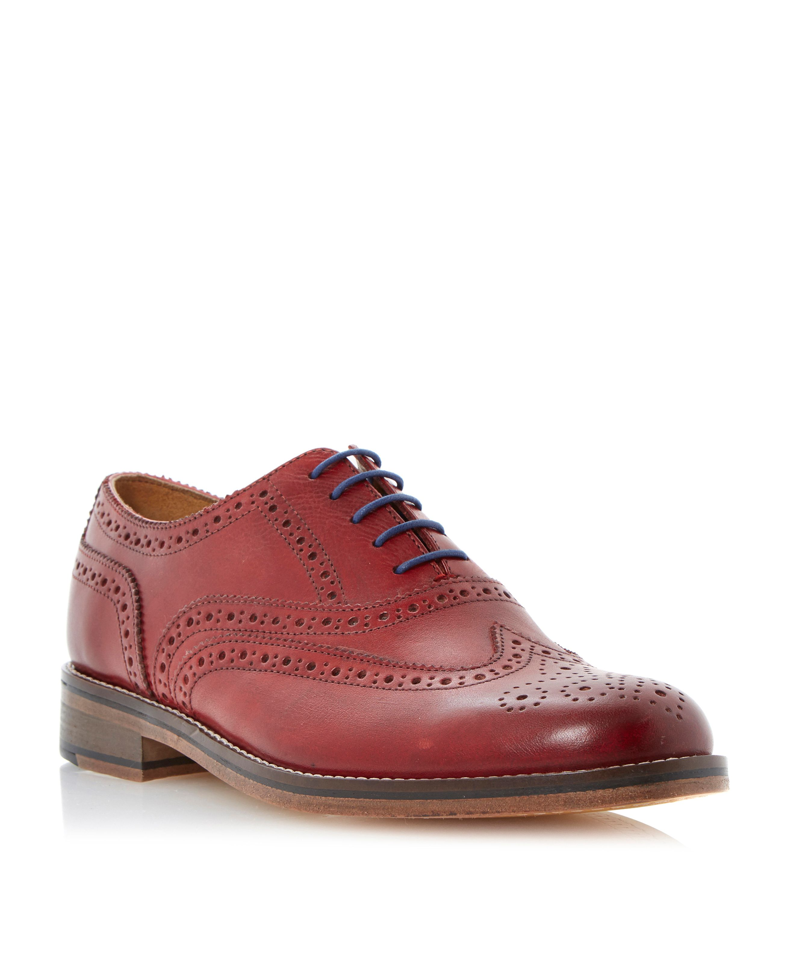 Axton lace up oxford heavy brogues