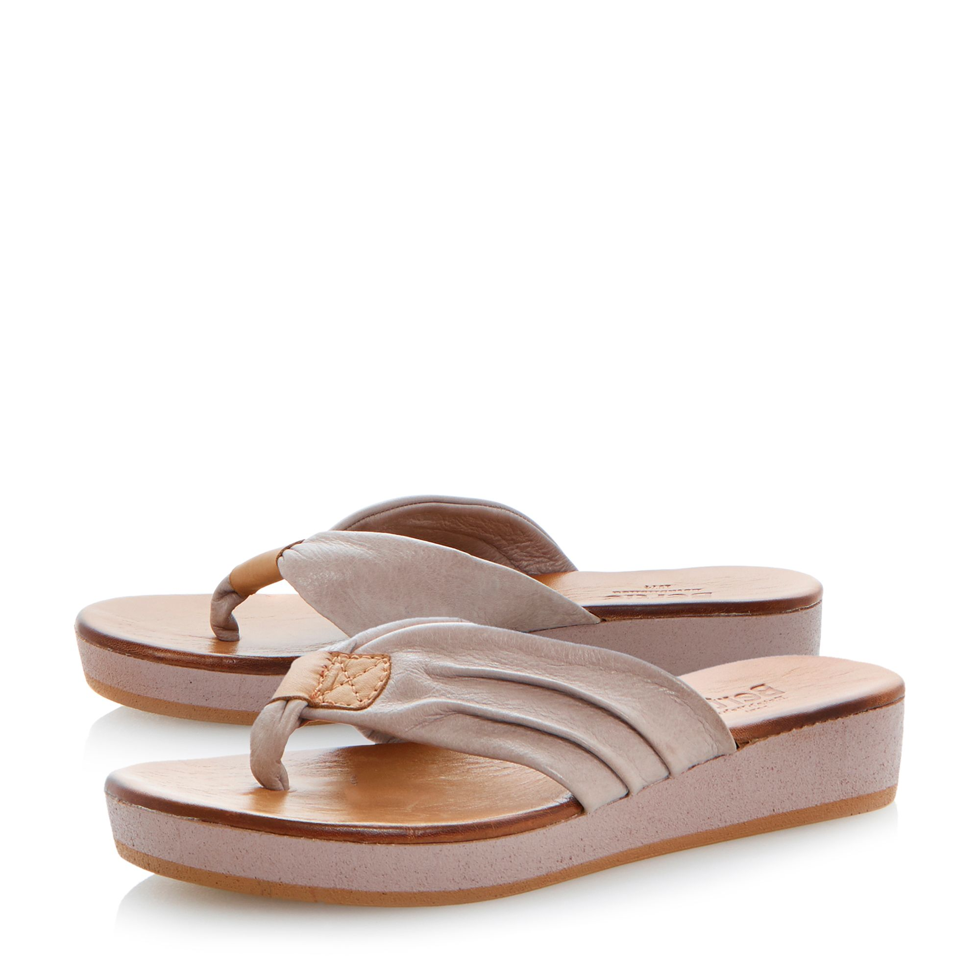 Jainey leather flat sandals