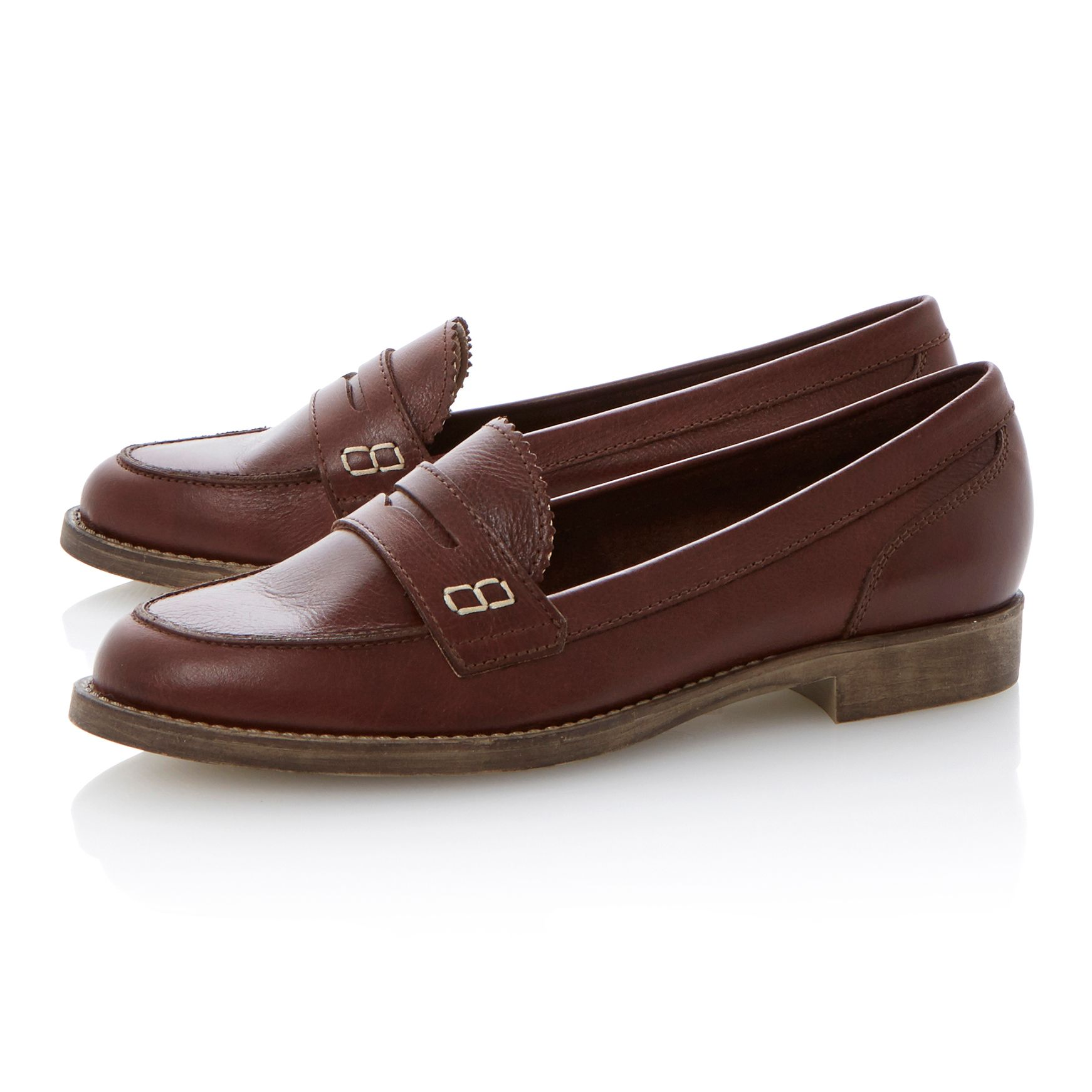 Lexus patent penny loafer shoes