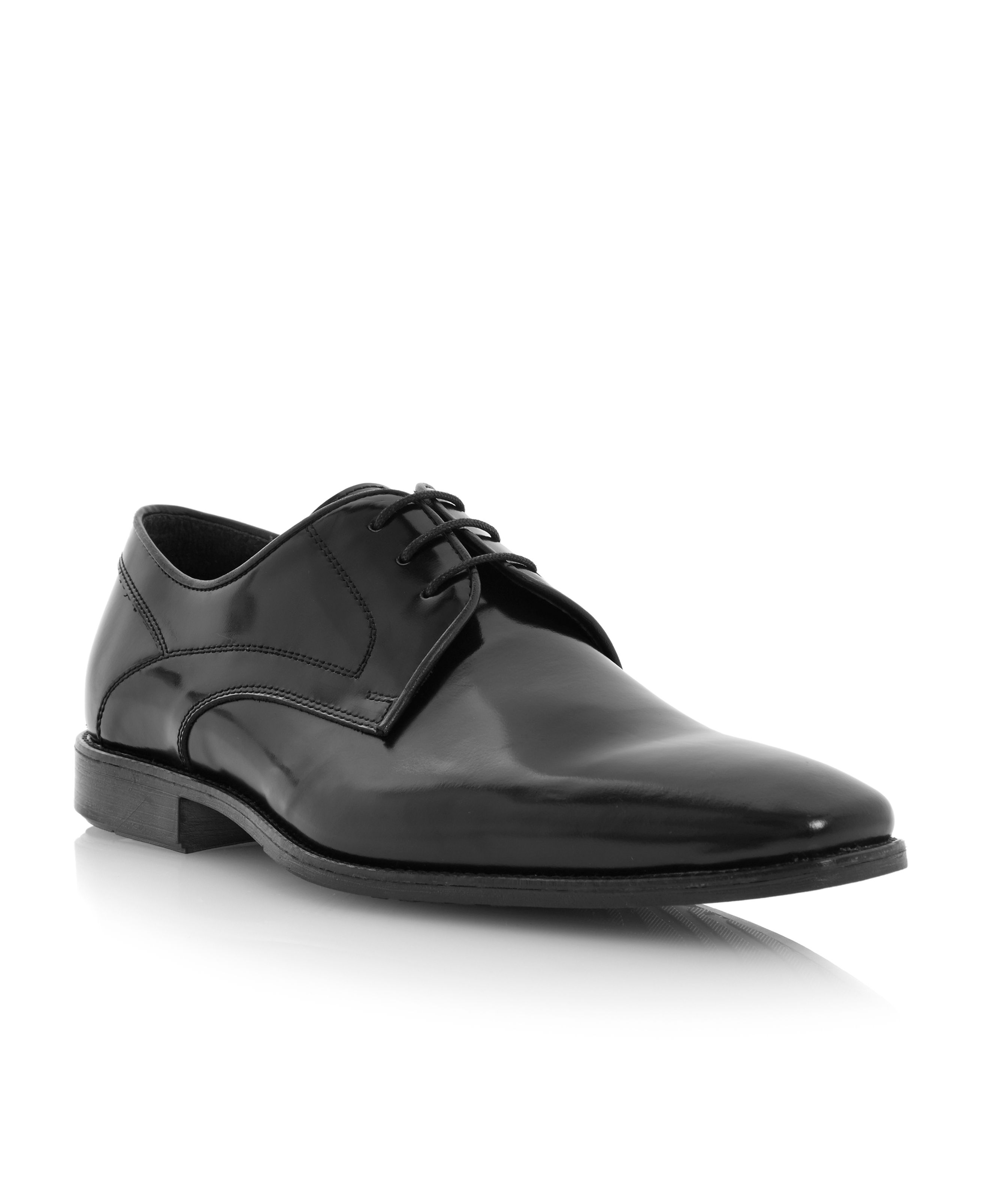 Rochester place lace up chisel gibson shoes