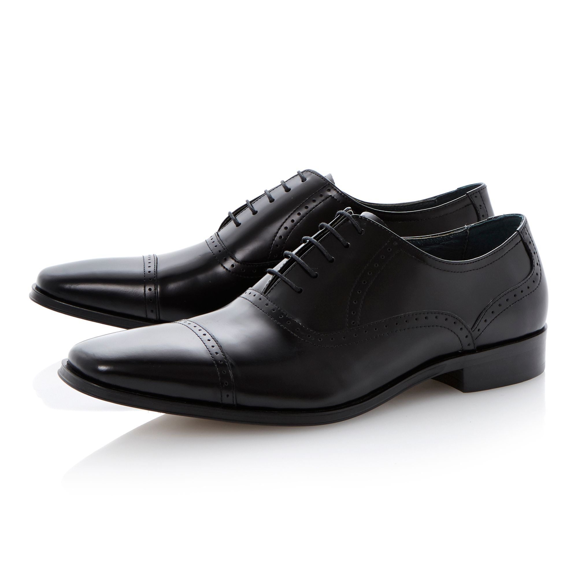 Regency lace up toecap oxford brogues