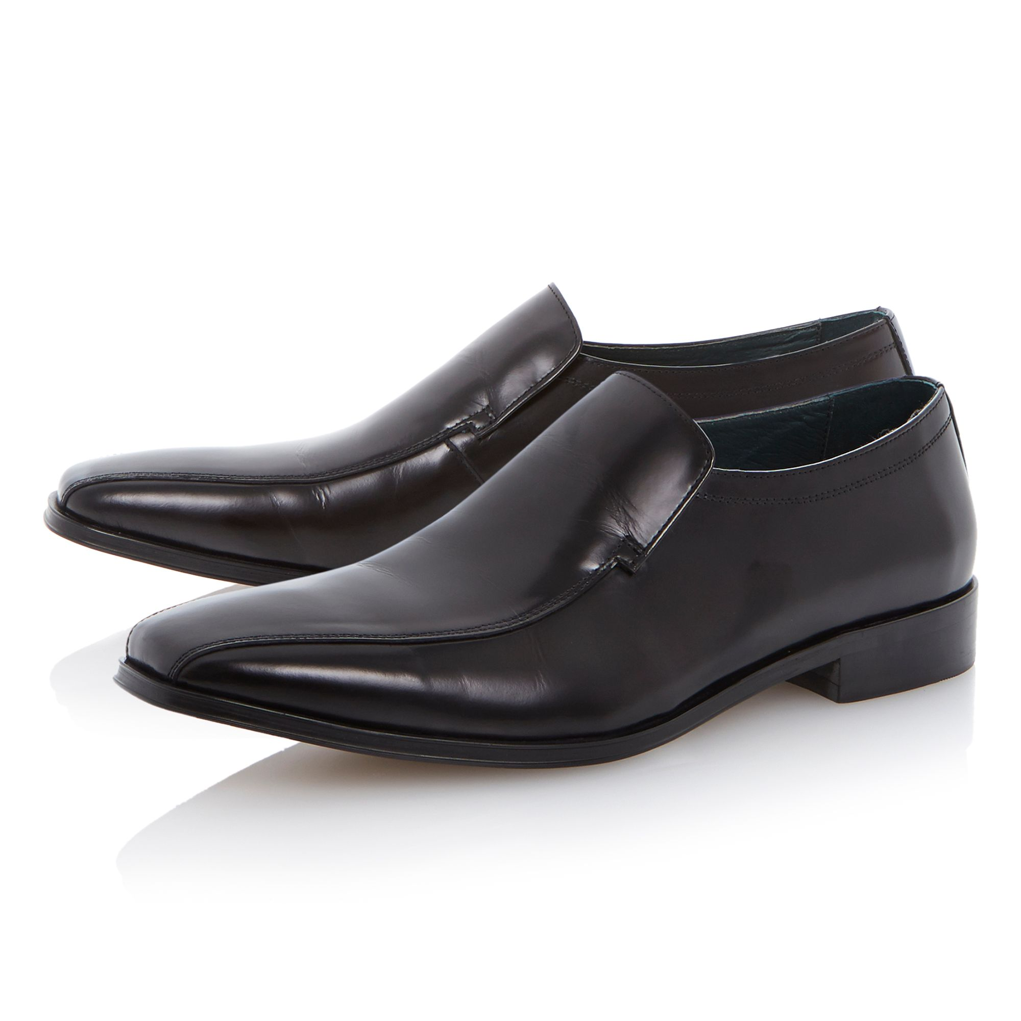 Redcliffe elasticated tramline loafers