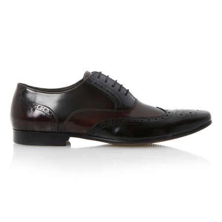 Raymond lace up multi toned brogues