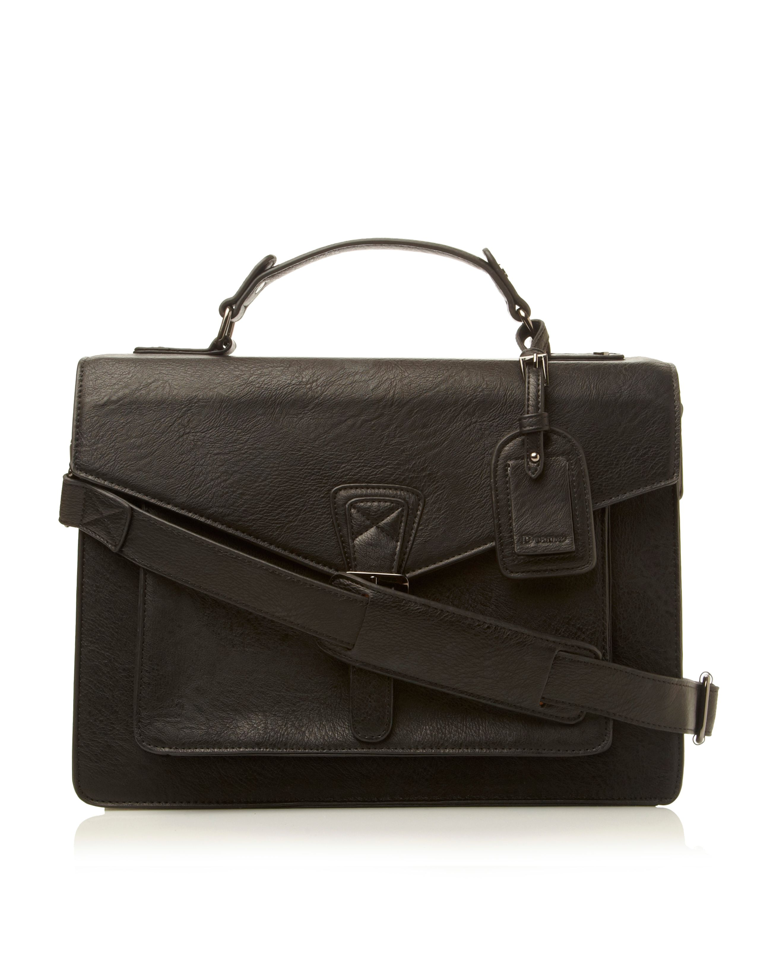 Poughkeepsie  structured mens satchel