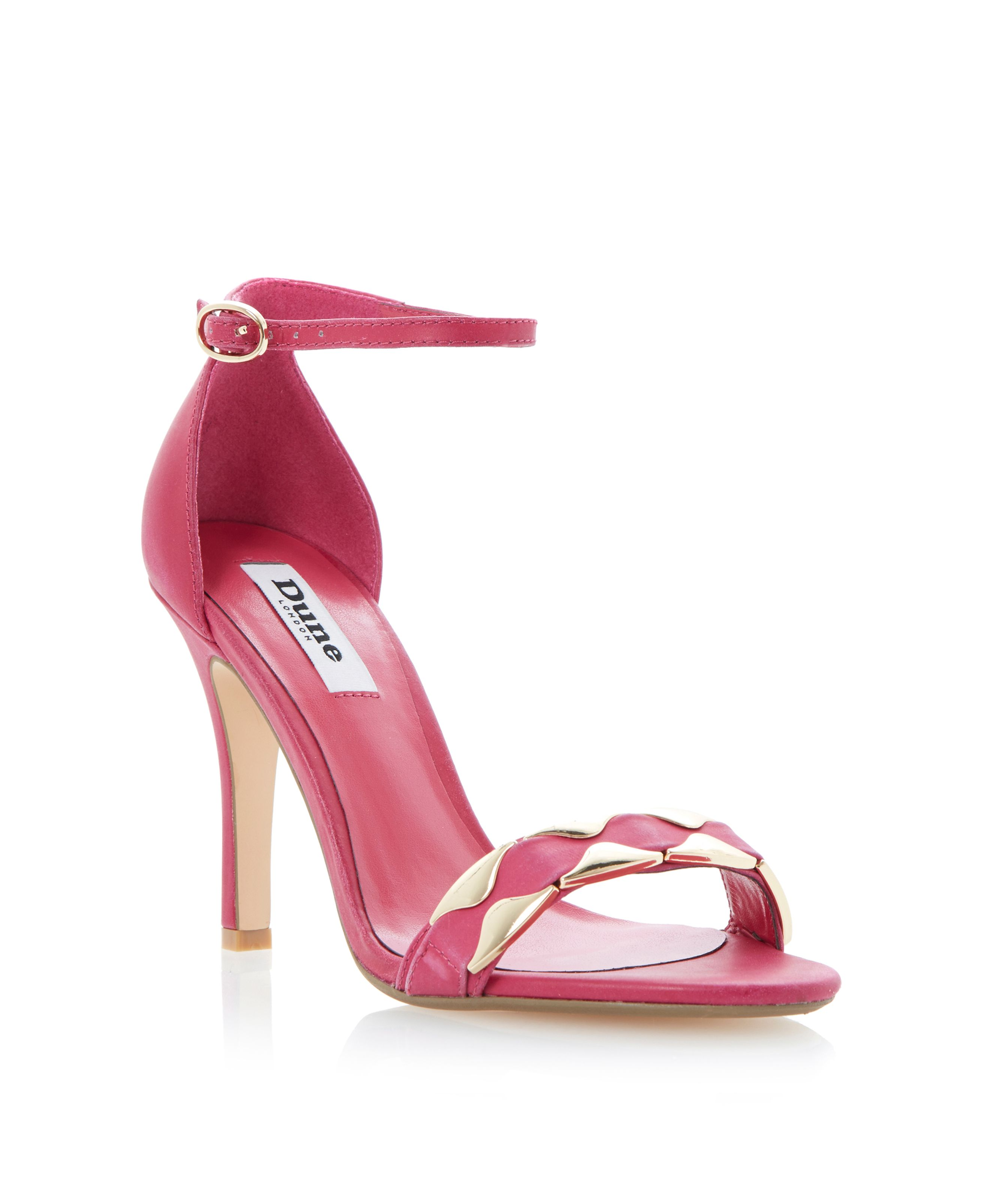 Halette leather stiletto sandals