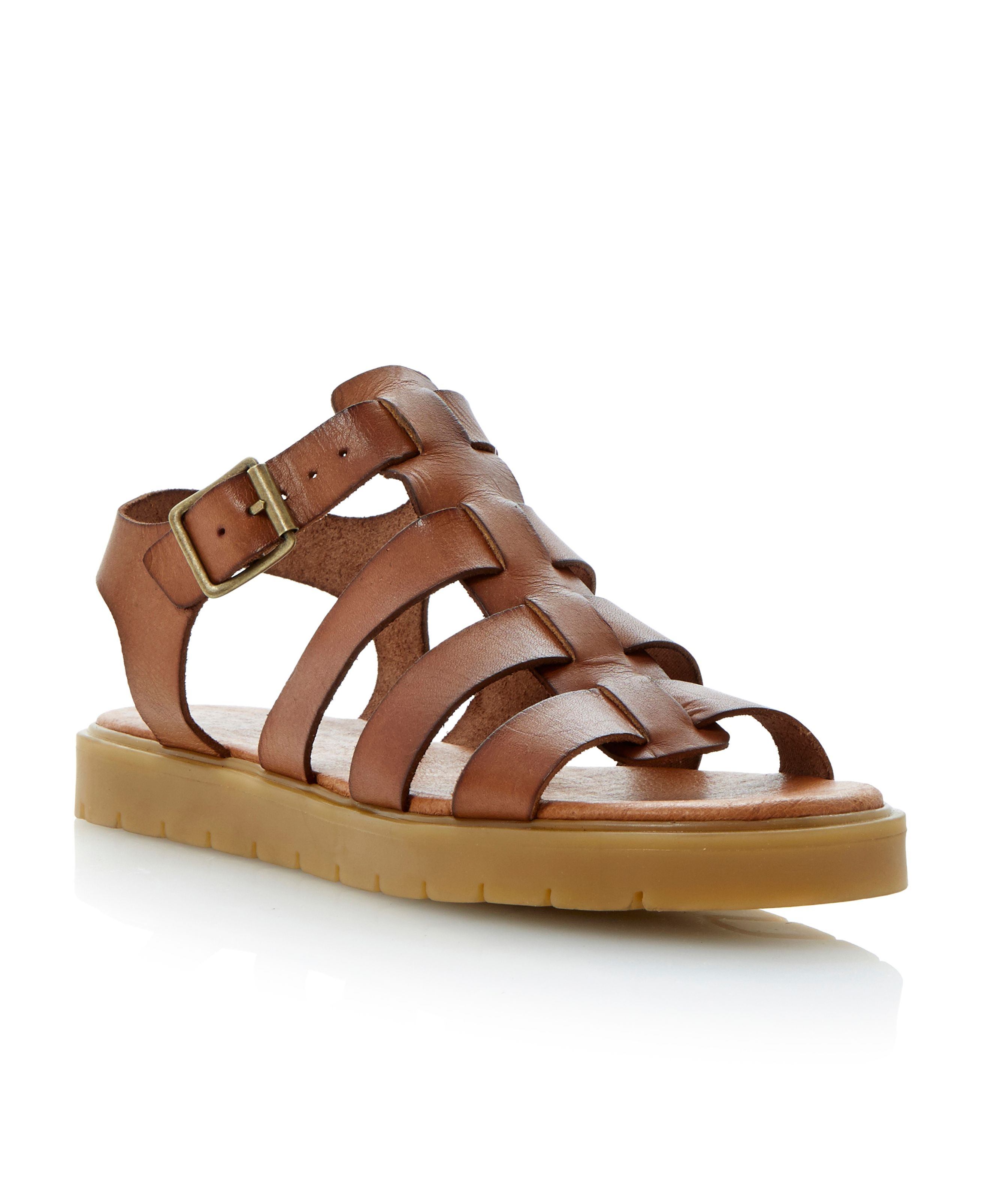 Jarny leather buckle sandals