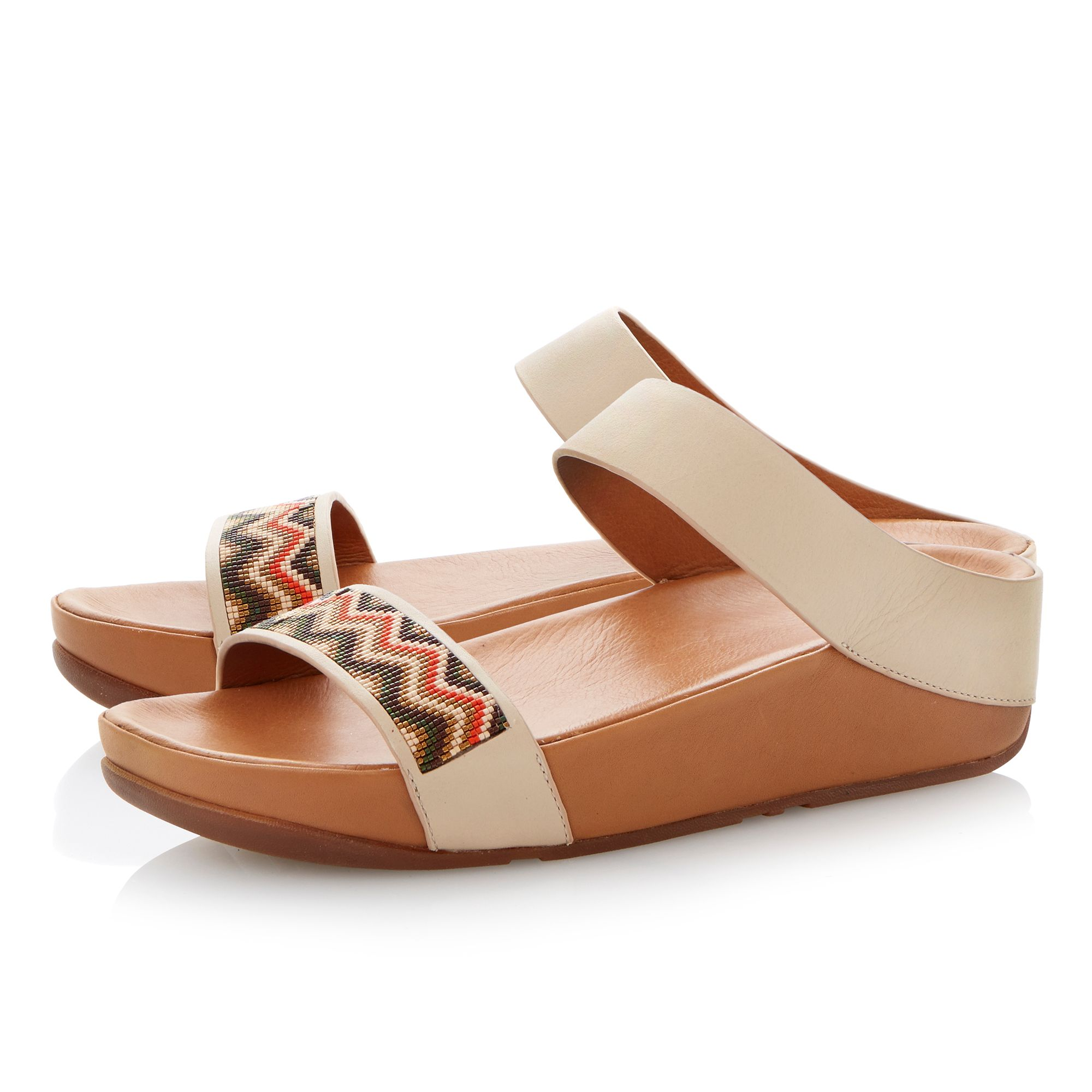 Manyano slide beaded mules