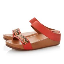 FitFlop Manyano slide beaded mules