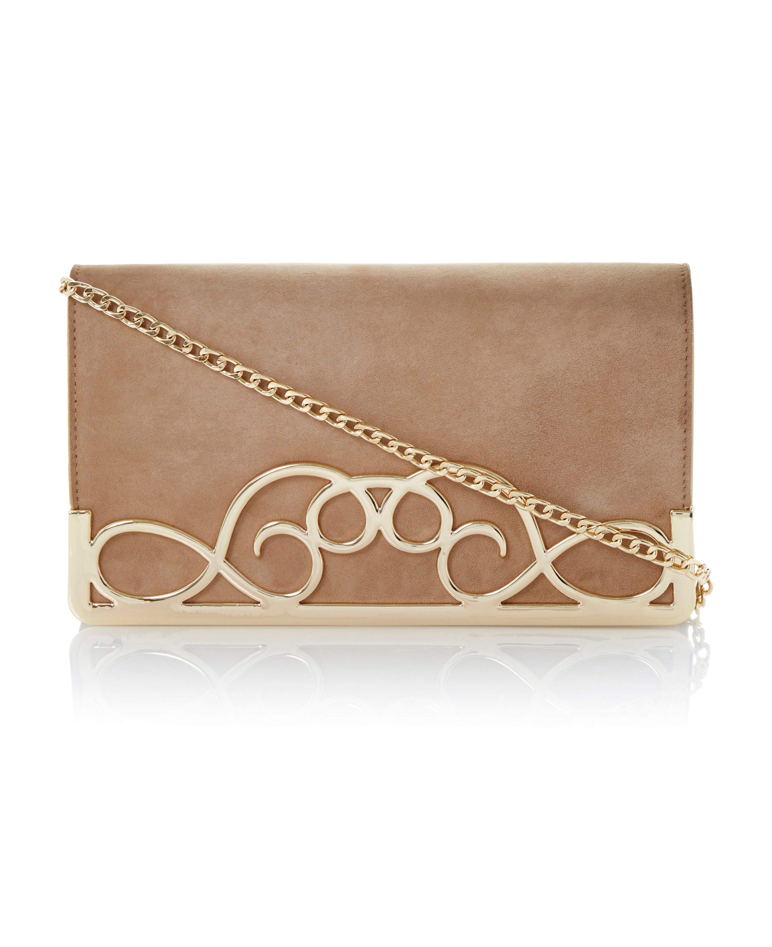 Ewirl clutch bag