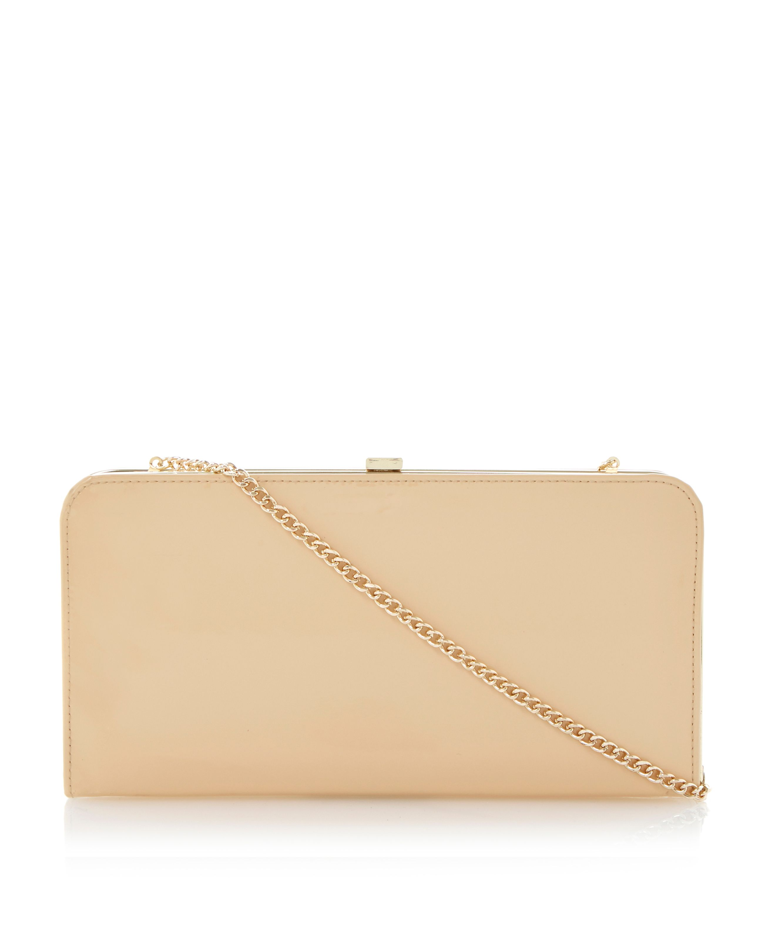 Bemzie leather clutch bag