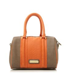 Bsnapp structured colour block bag