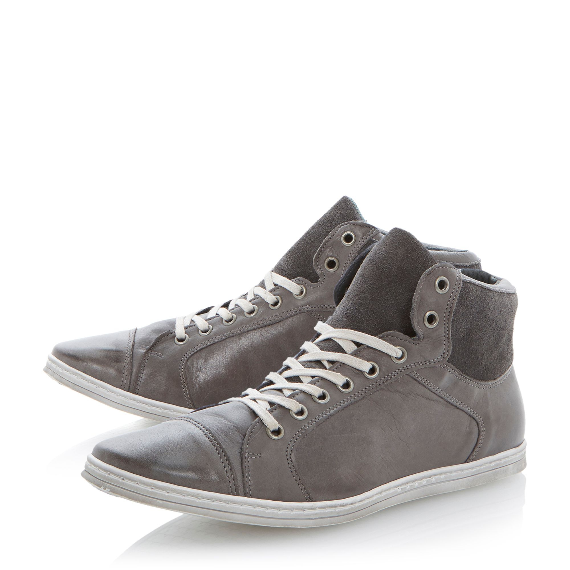 Sidewalk lace up toecap hi tops