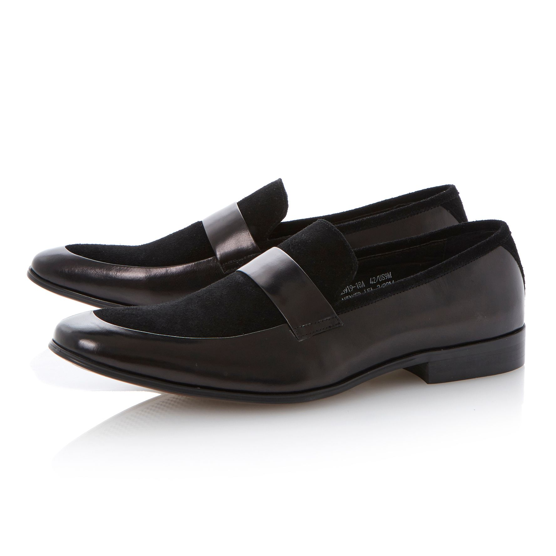 Avenger lea saddle loafers