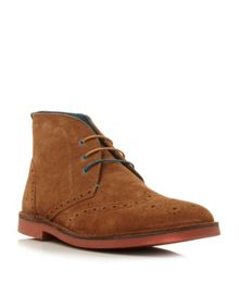 Kidde brogue desert lace up boots