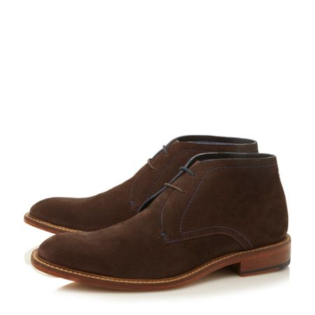 Torsdi formal chukka lace up boots