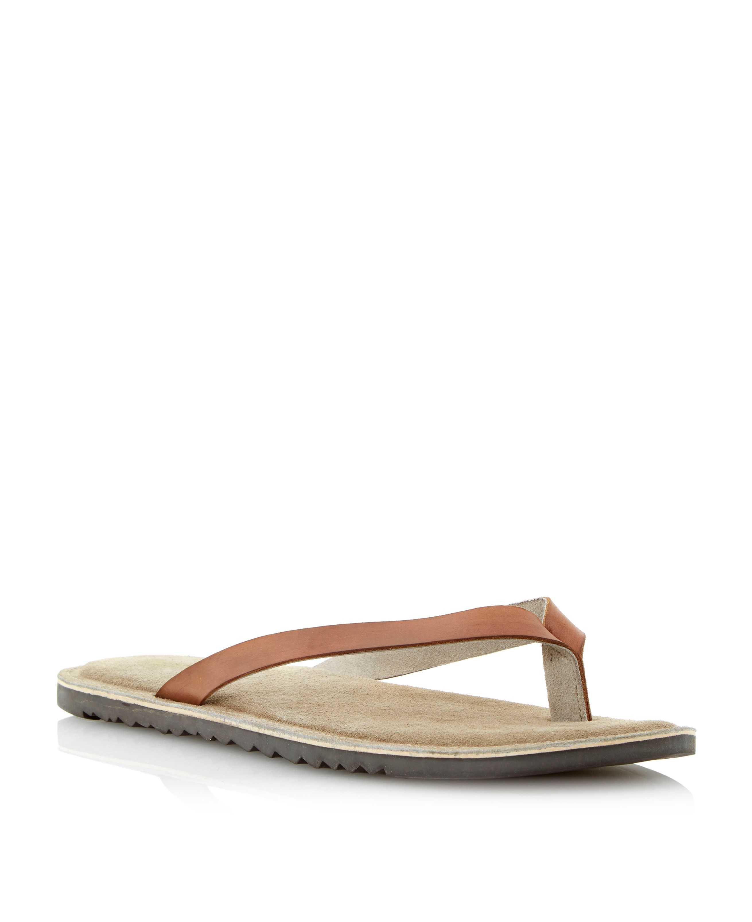 Franco sporty sole toe post sandals